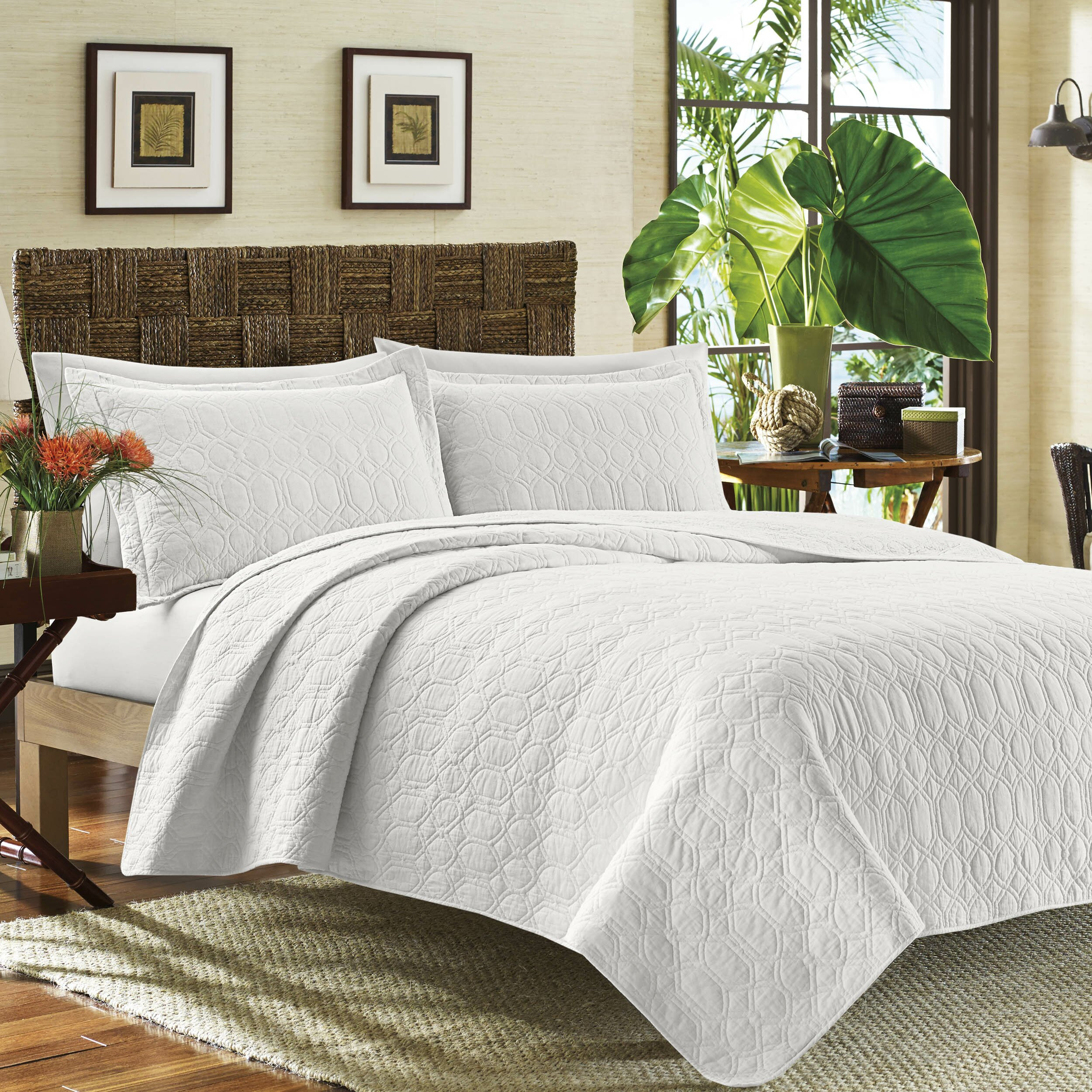 Tommy bahama bedding catalina quilt set wayfair Tommy bahama bedding