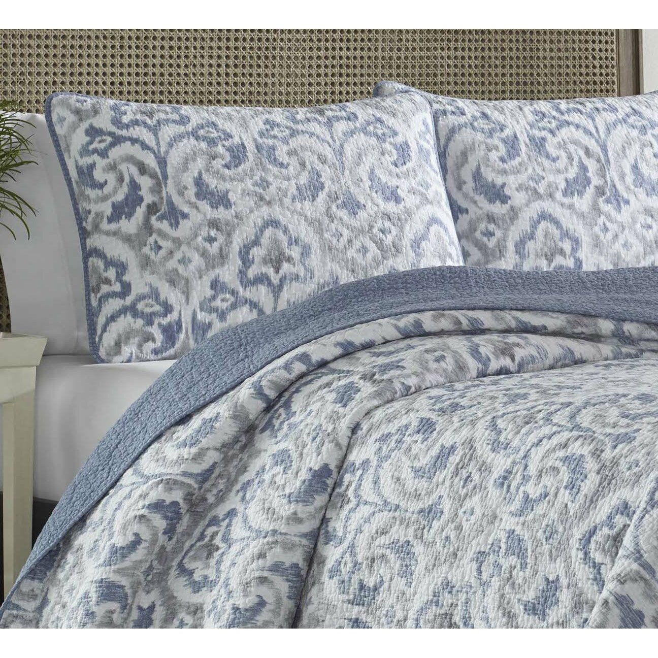 Tommy Bahama Bedding Cape Verde Reversible Quilt Set