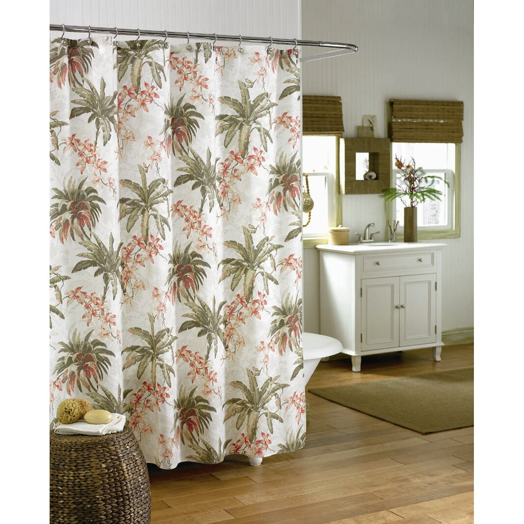 Tommy Bahama Bedding Bonny Cove Shower Curtain Reviews Wayfair