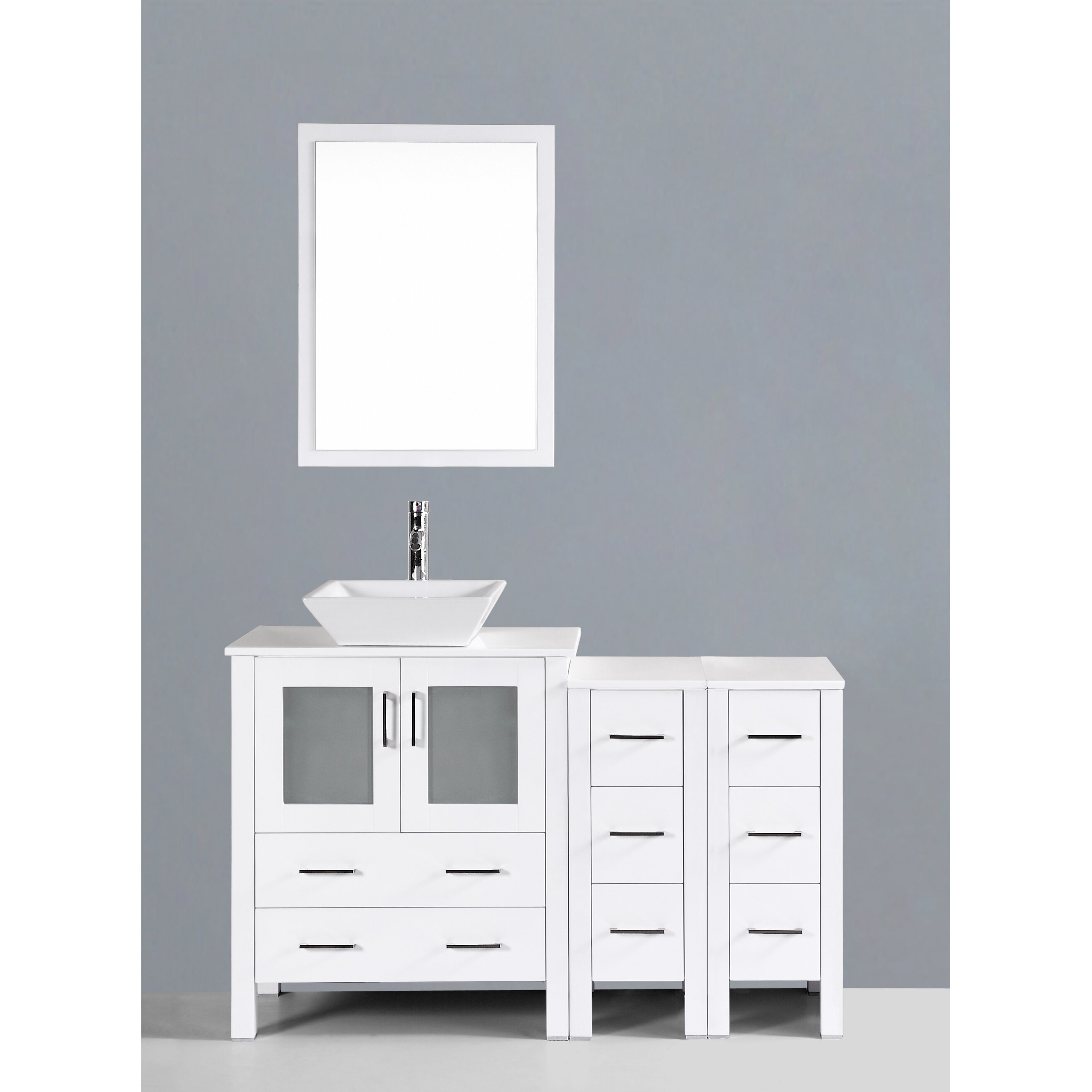 Rustic vanity cabinets for bathrooms specially for for Bathroom remodel anchorage