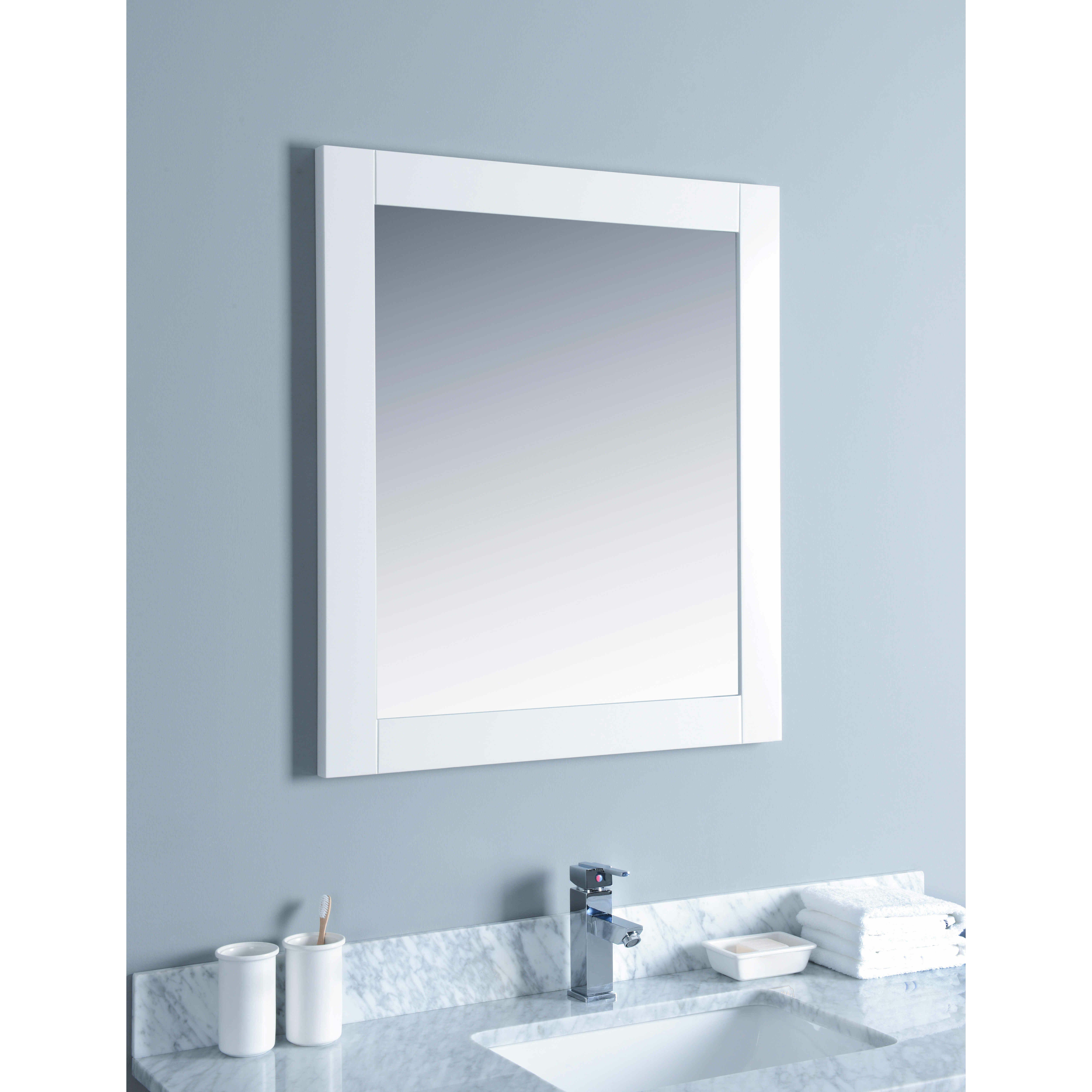 "Bosconi 48"" Single Bathroom Vanity Set with Mirror"