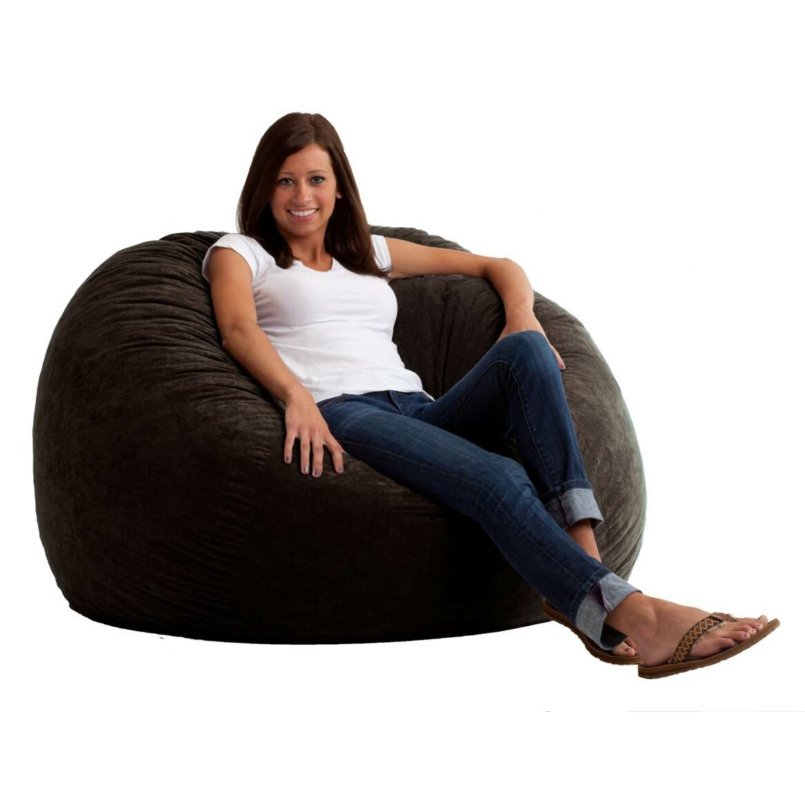 comfort research fuf bean bag chair reviews wayfair. Black Bedroom Furniture Sets. Home Design Ideas