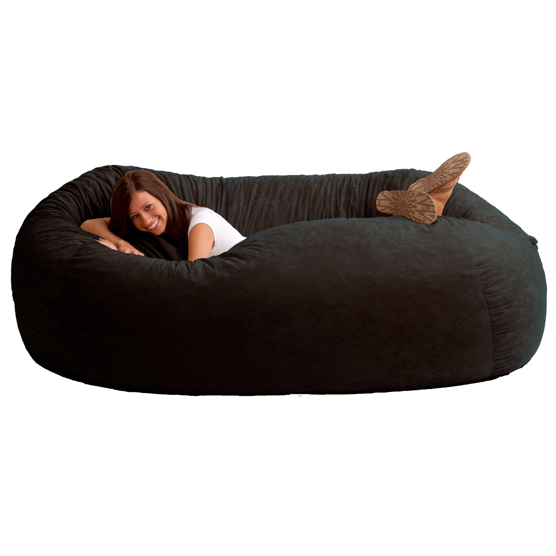 Comfort Research Fuf Bean Bag Sofa Reviews Wayfair