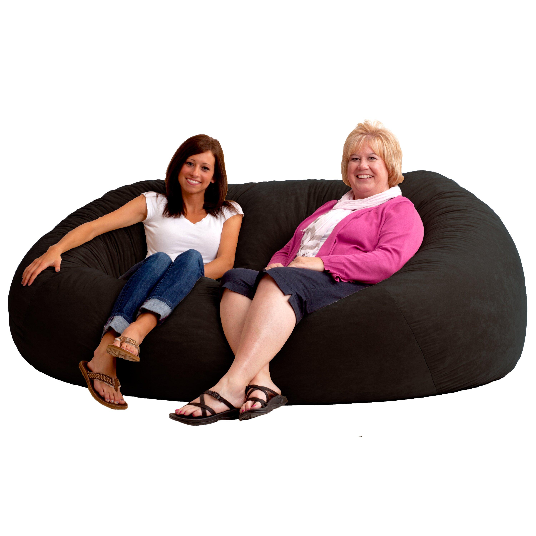 Comfort Research Fuf Bean Bag Sofa Amp Reviews Wayfair