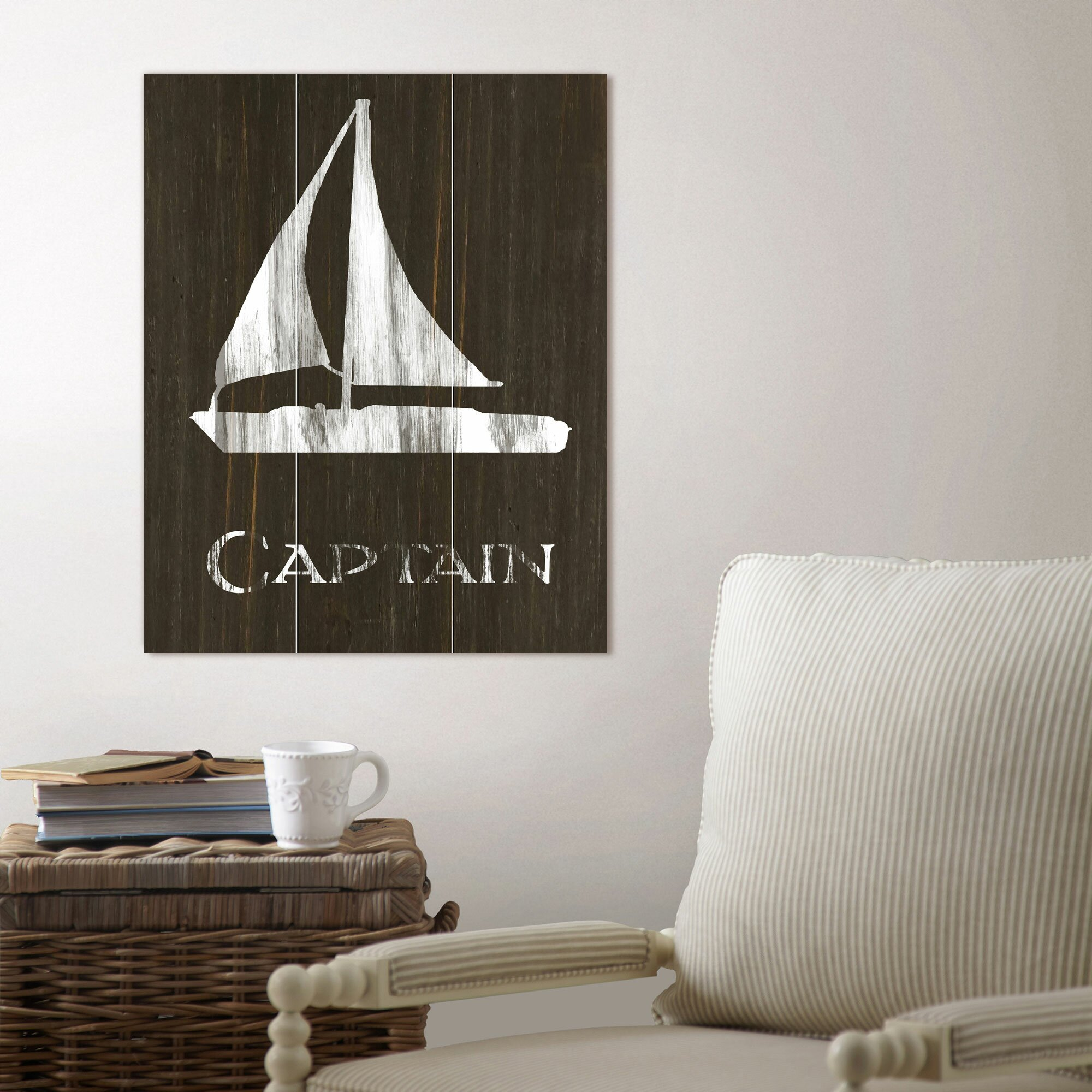 Wood Sailboat Wall Decor : Birch lane sailboat wood wall art reviews wayfair