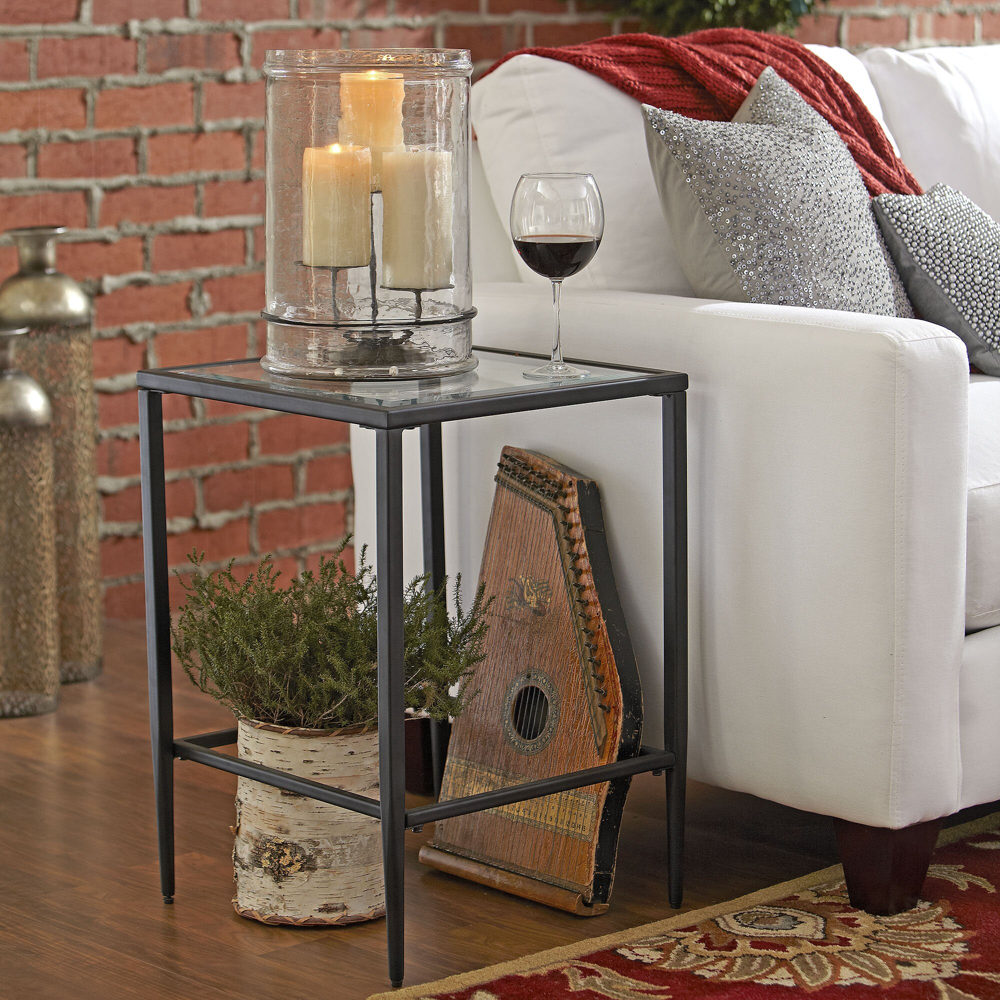 Birch Lane Harlan Square Side Table Amp Reviews Wayfair