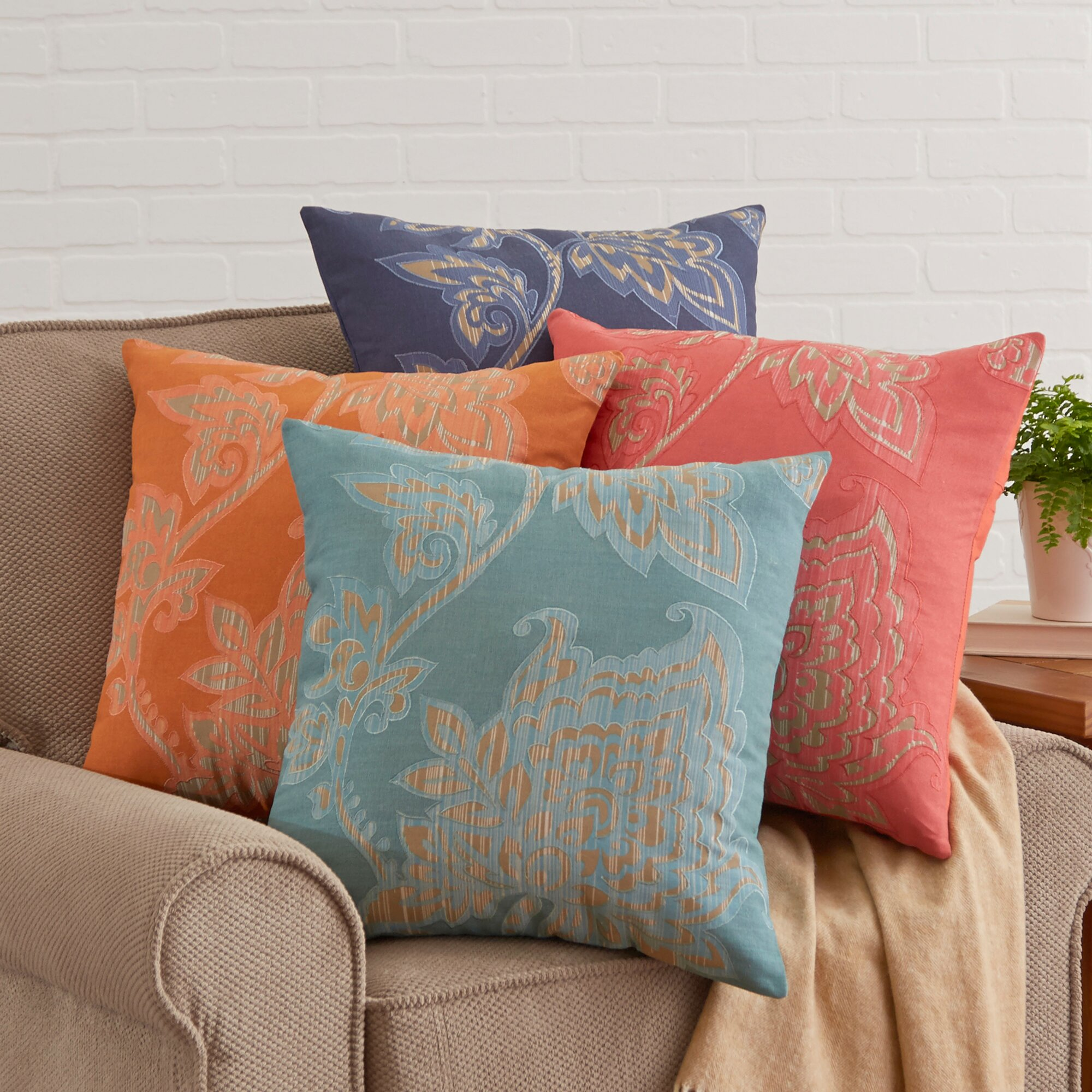 Wayfair Decorative Pillow Covers : Birch Lane Penelope Pillow Cover & Reviews Wayfair
