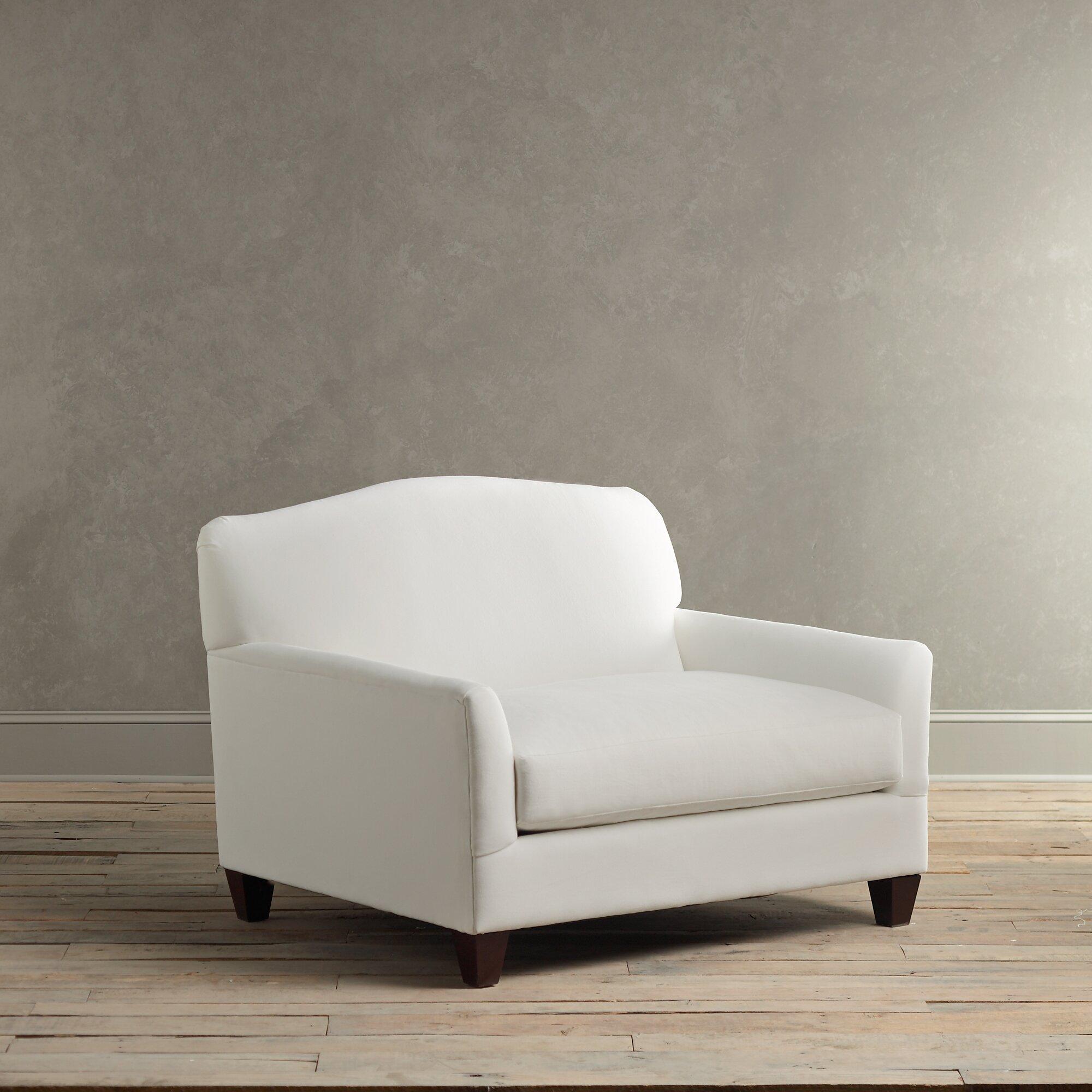 Birch Lane Fairchild Slipcovered Chair And A Half