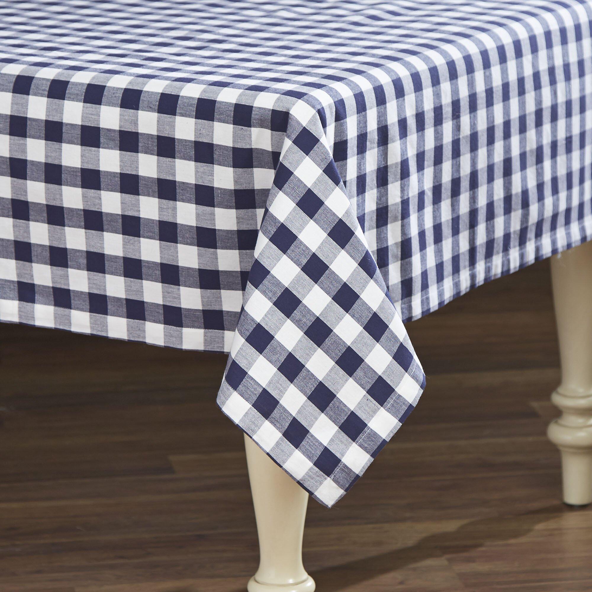 Design Imports Checker Table Cloth Reviews Wayfair