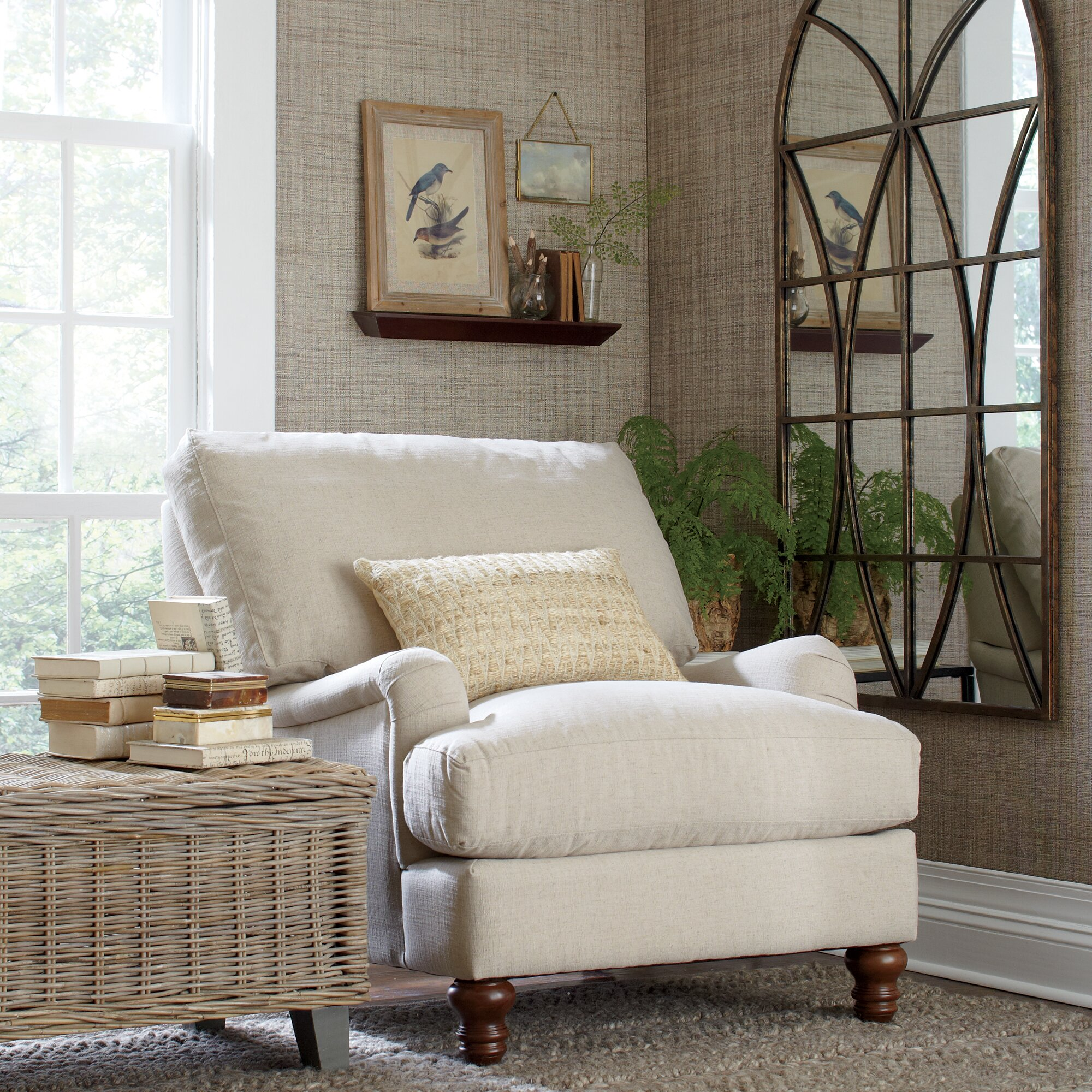Birch Lane Montgomery Upholstered Chair Amp Reviews Wayfair