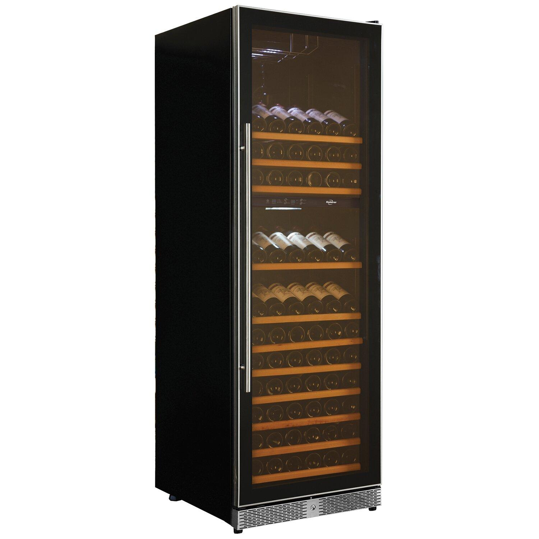 Koolatron 173 Bottle Dual Zone Convertible Wine