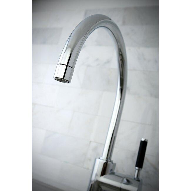 sink faucet kingston brass kaiser single handle vessel sink faucet amp reviews