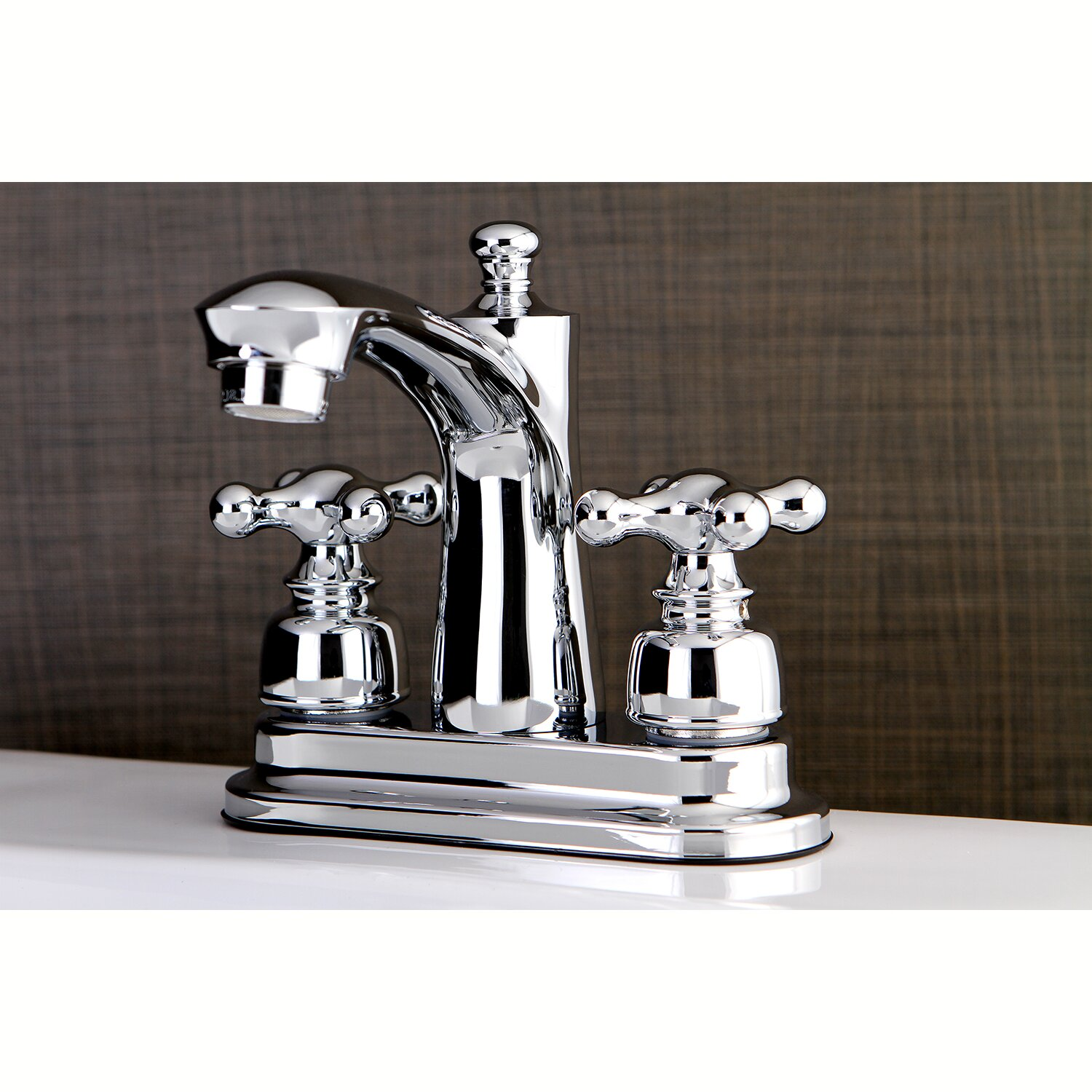 Kingston Brass Victorian Centerset Double Handle Lavatory Faucet With Drain Assembly Wayfair