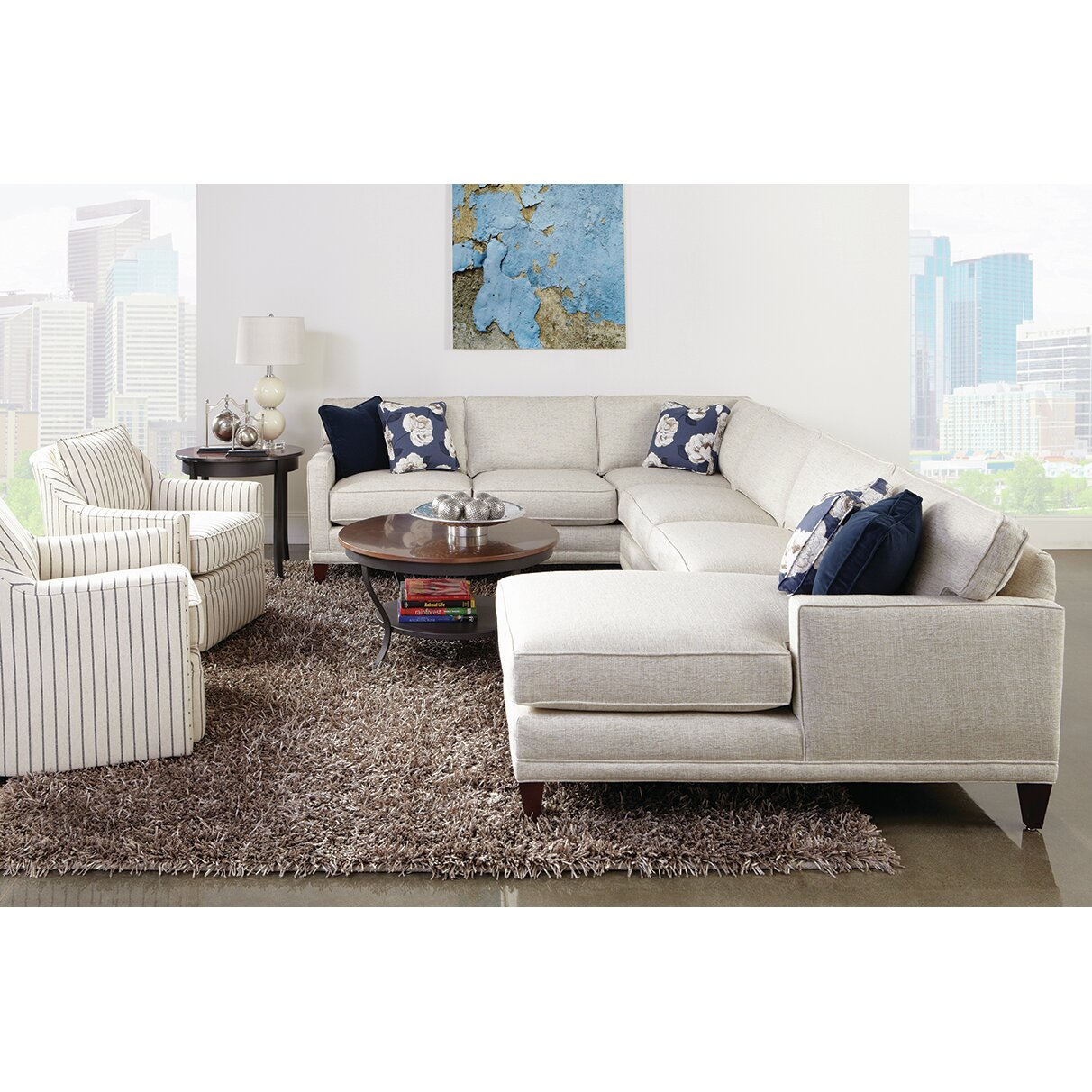 Rowe Furniture Townsend Sectional Reviews Wayfair