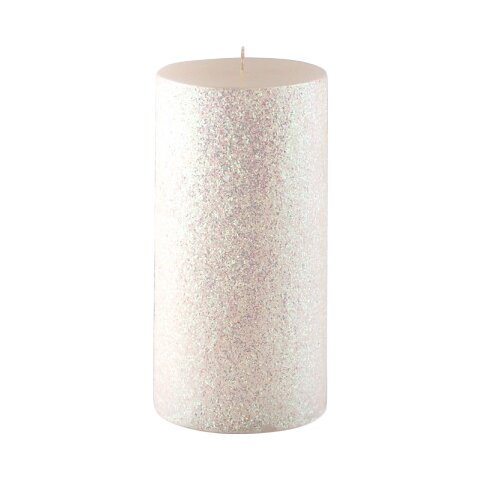 Jeco inc glitter pillar candle reviews wayfair for Shimmer pillar candle