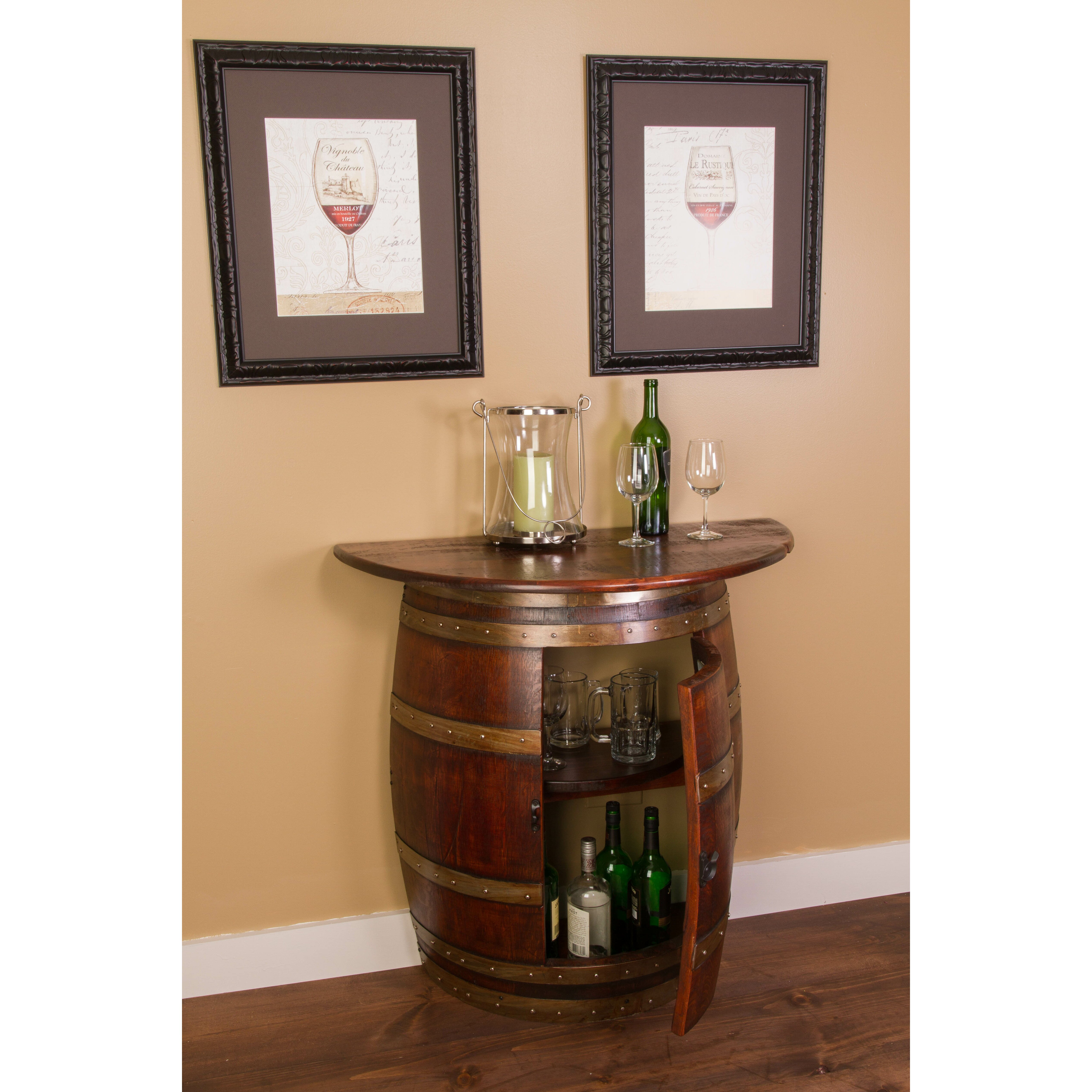 Napa East Collection Bar Cabinet Amp Reviews Wayfair