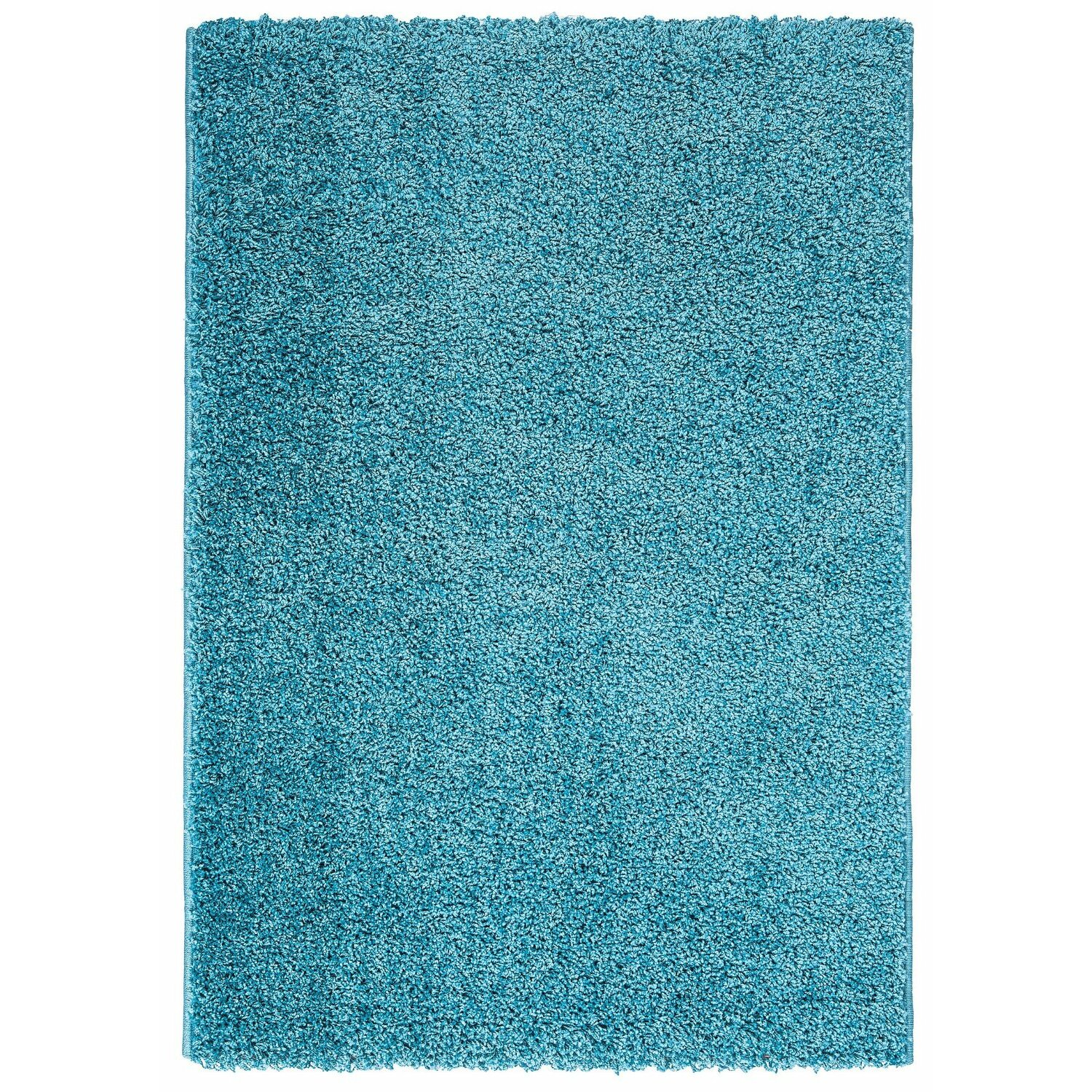 Ottomanson Turquoise Blue Shaggy Area Rug Amp Reviews Wayfair