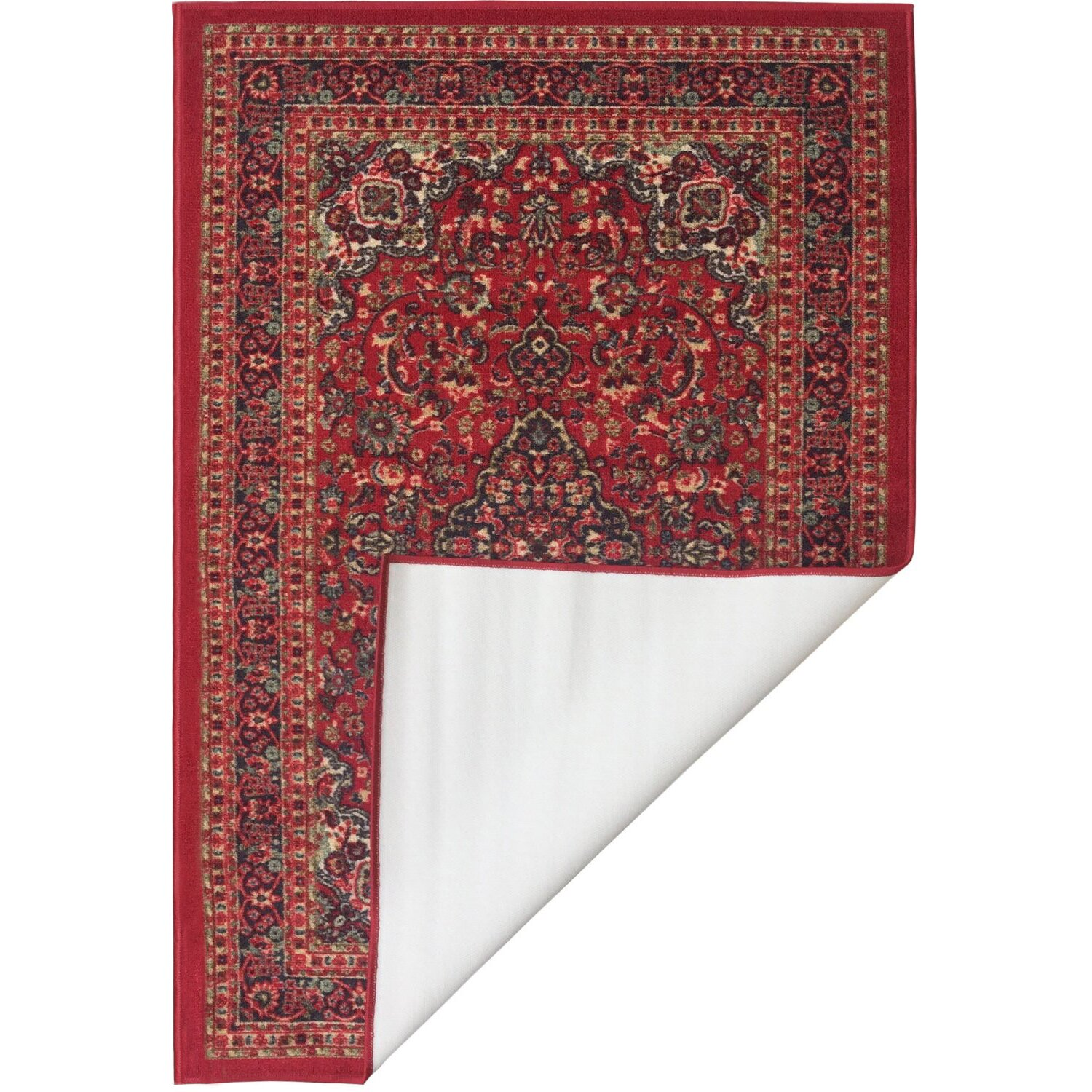 ottomanson ottohome red area rug reviews wayfair