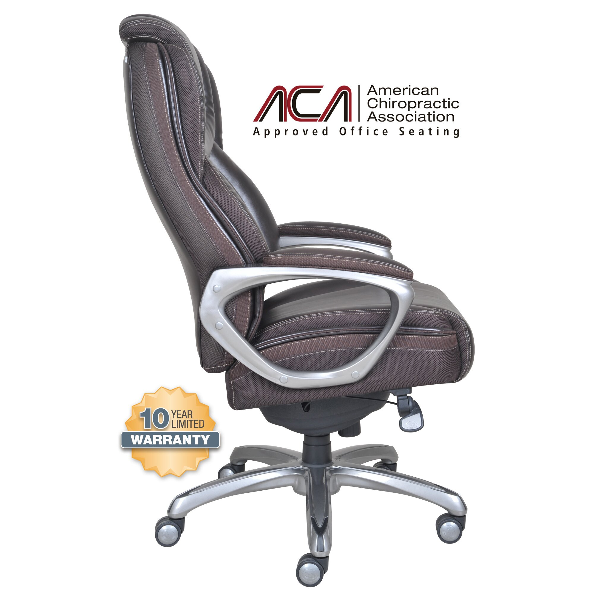 Serta At Home High Back Leather Executive Office Chair Home Decor