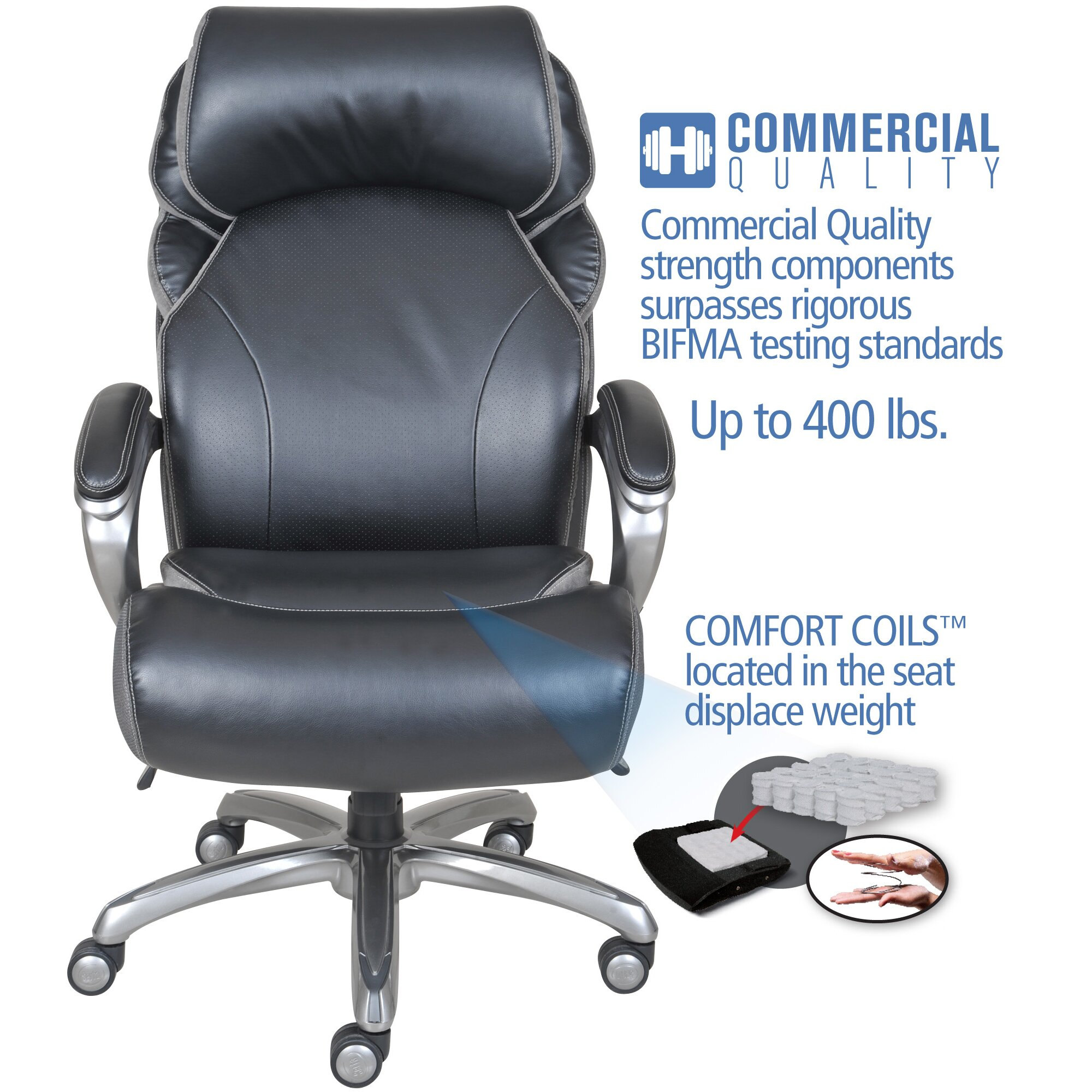 Serta Tranquility Mattress ... Office Furniture ... All Office Chairs Serta at Home SKU: SERT1039