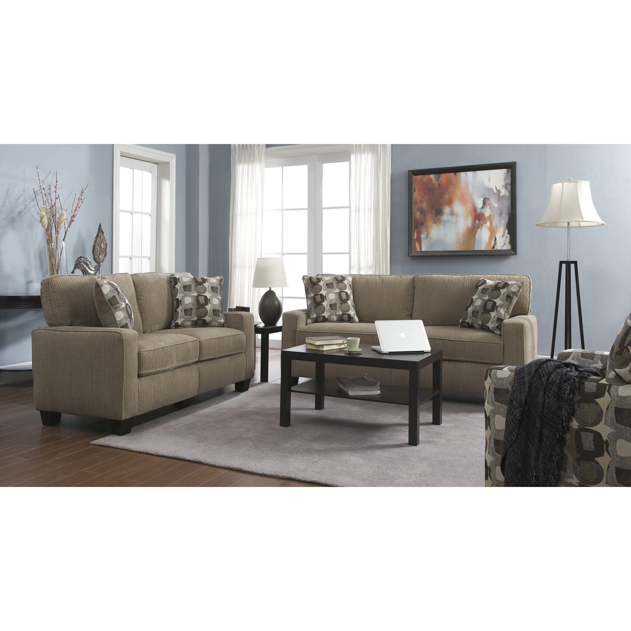 serta at home serta rta palisades 61 loveseat reviews wayfair. Black Bedroom Furniture Sets. Home Design Ideas