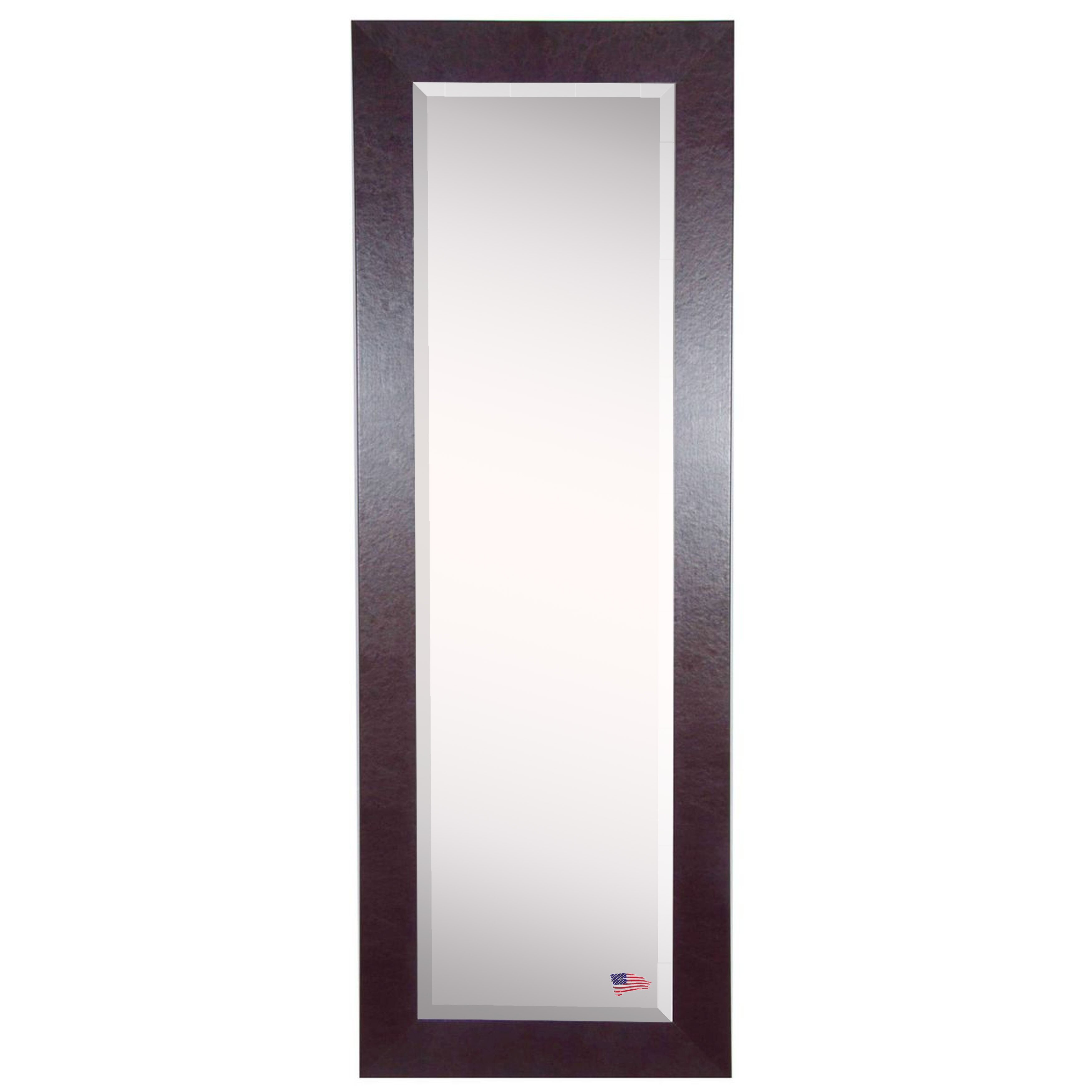Rayne Mirrors Jovie Jane Brown Leather Full Length Beveled
