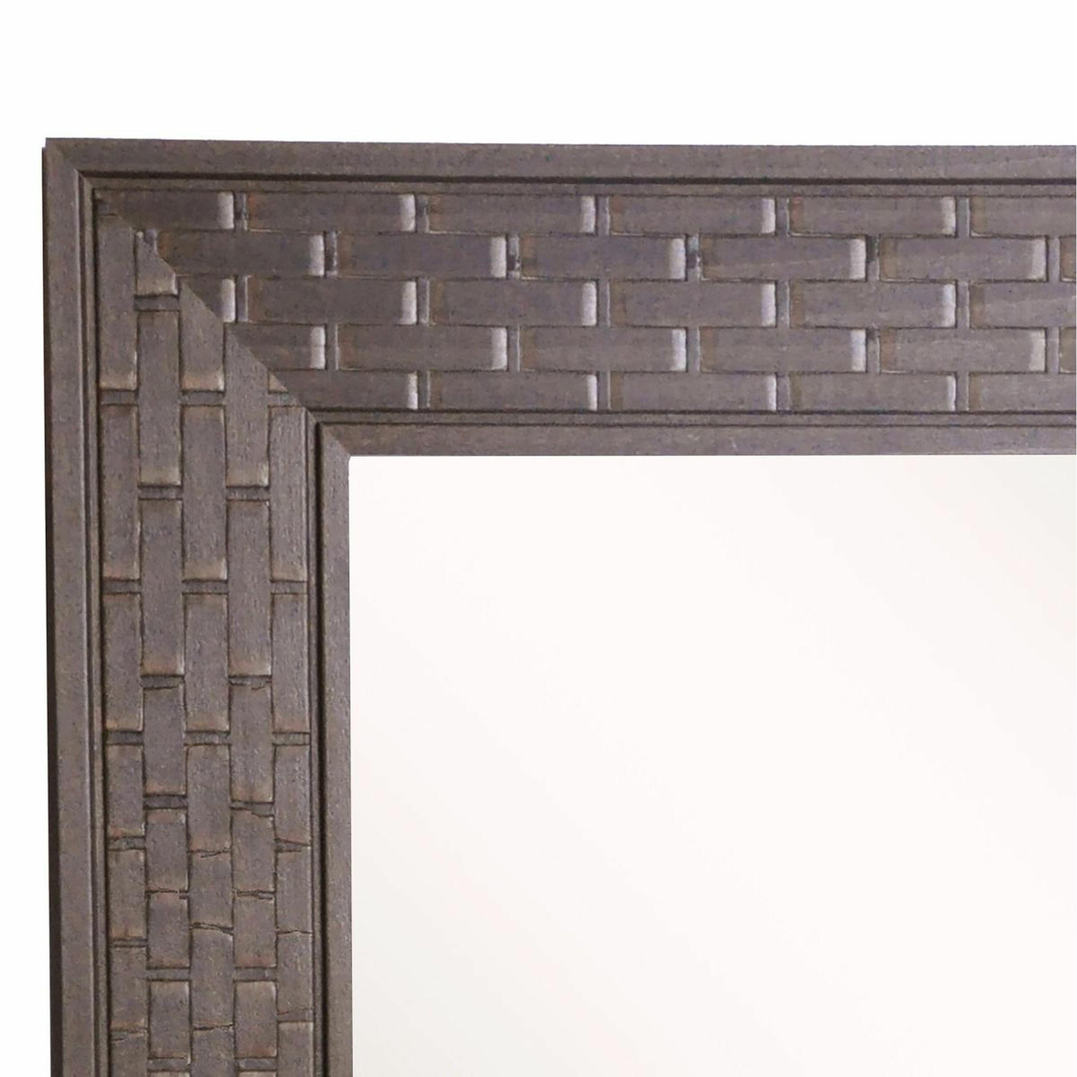 Rayne Mirrors Jovie Jane Espresso Bricks Full Length