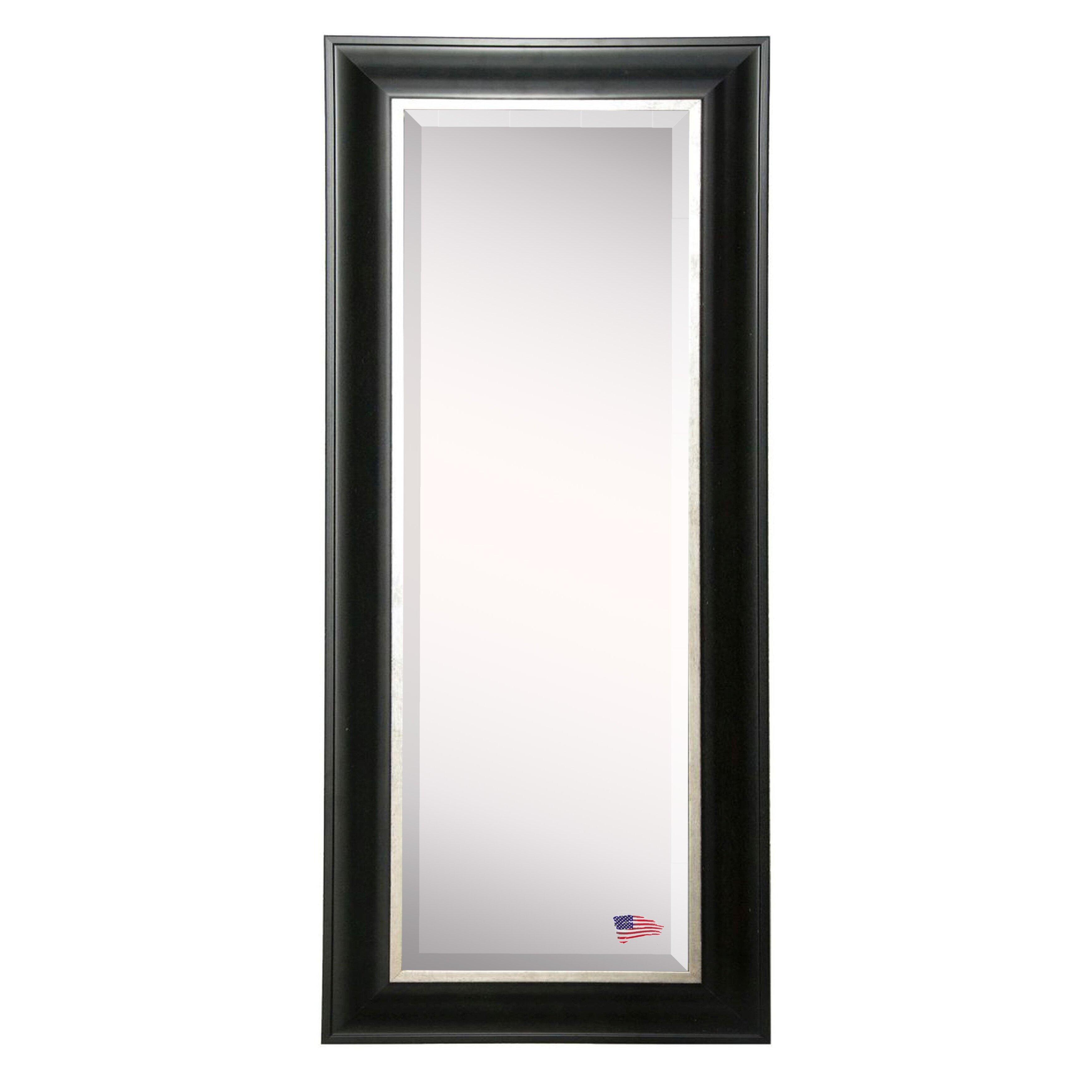 Rayne mirrors jovie jane full body beveled wall mirror for Full wall mirrors