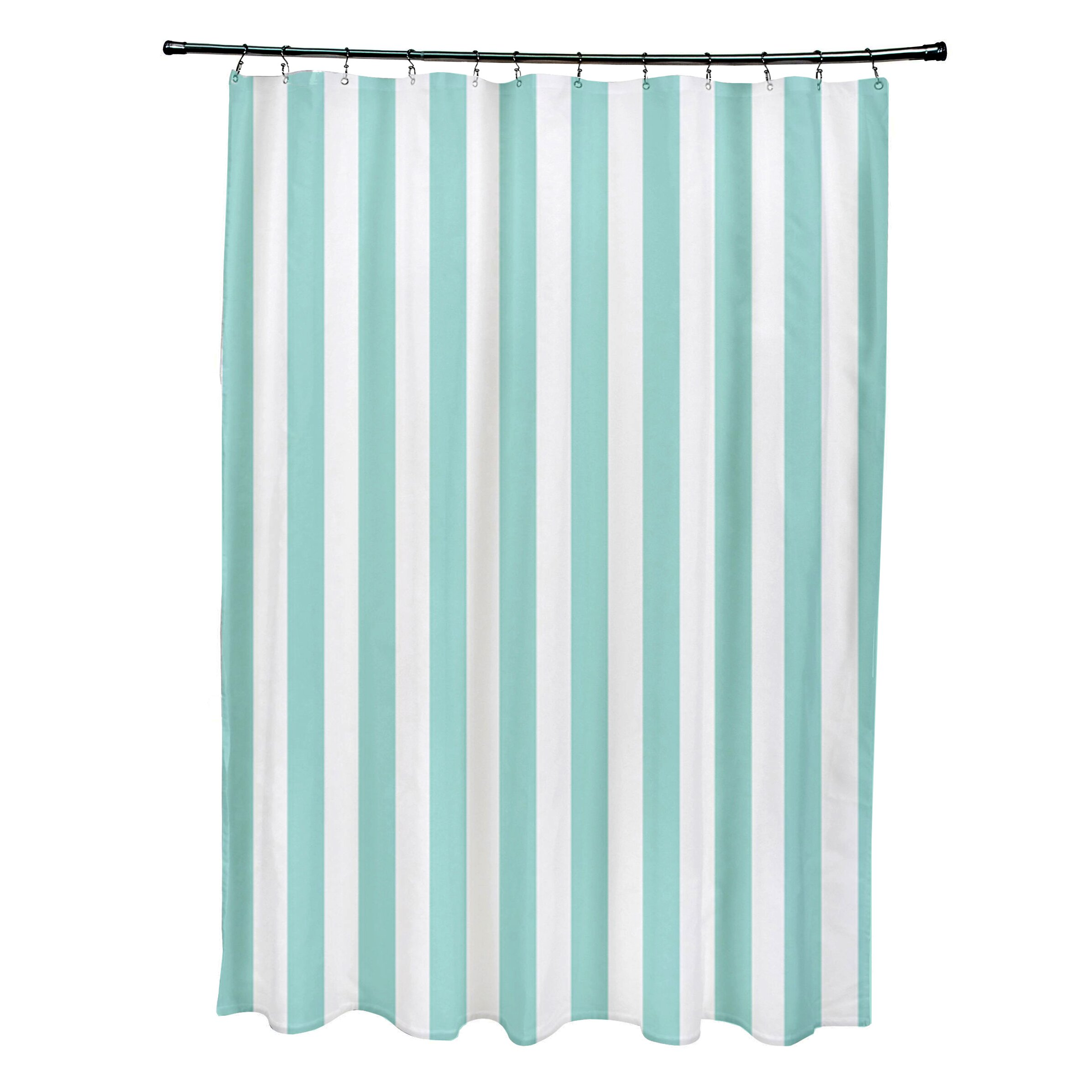 E By Design Striped Shower Curtain Amp Reviews