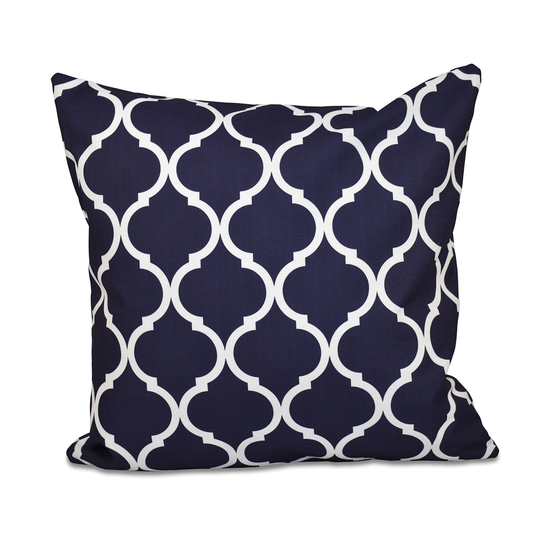e by design French Quarter Geometric Print Throw Pillow & Reviews Wayfair