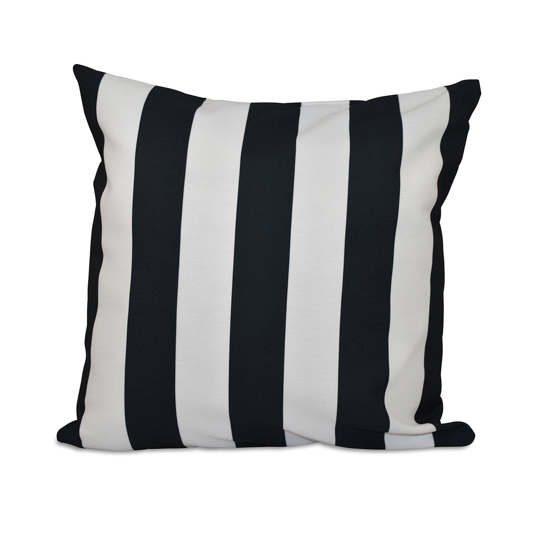 e by design Classic Stripe Decorative Throw Pillow & Reviews Wayfair