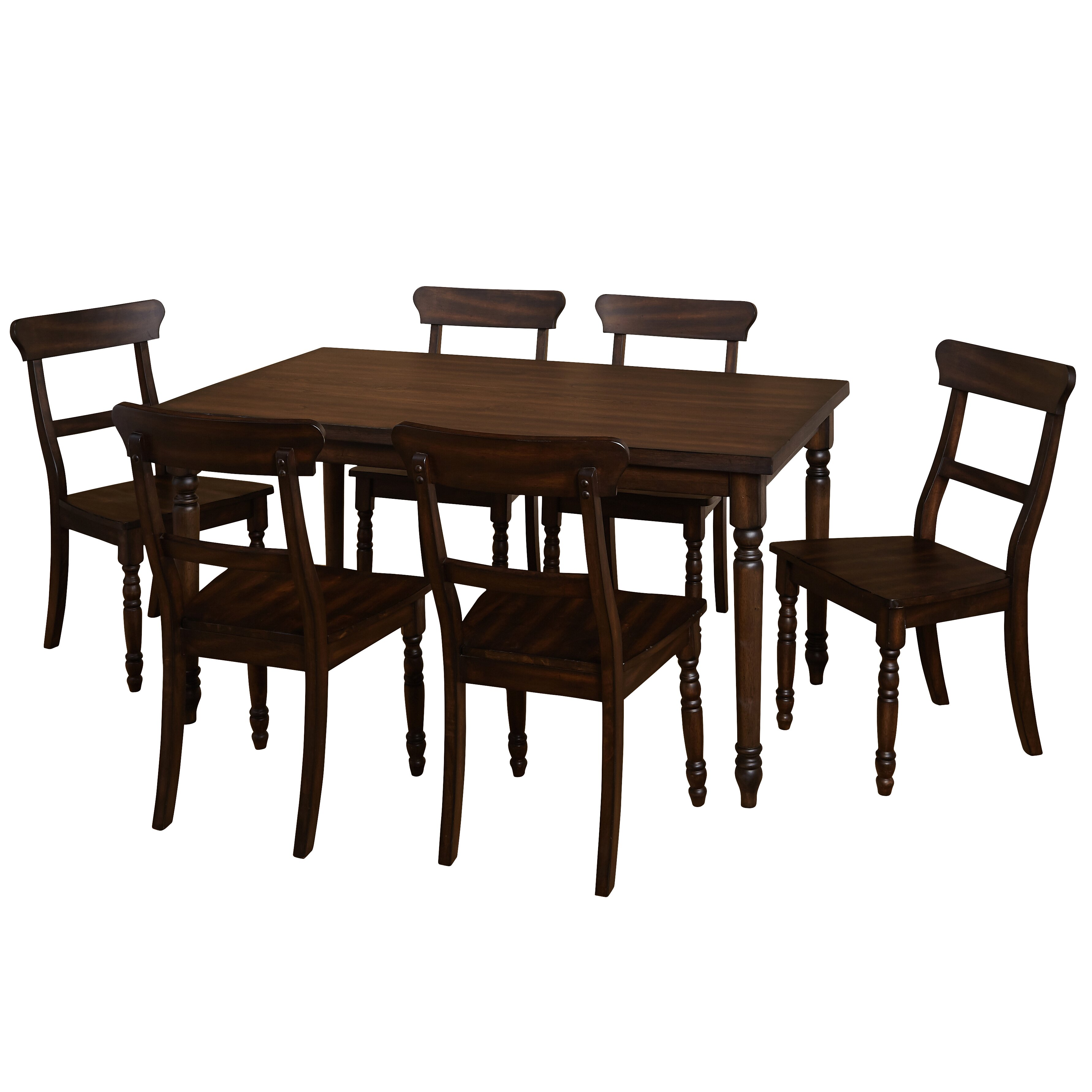 Tms muses 7 piece dining set wayfair for 7 piece dining set