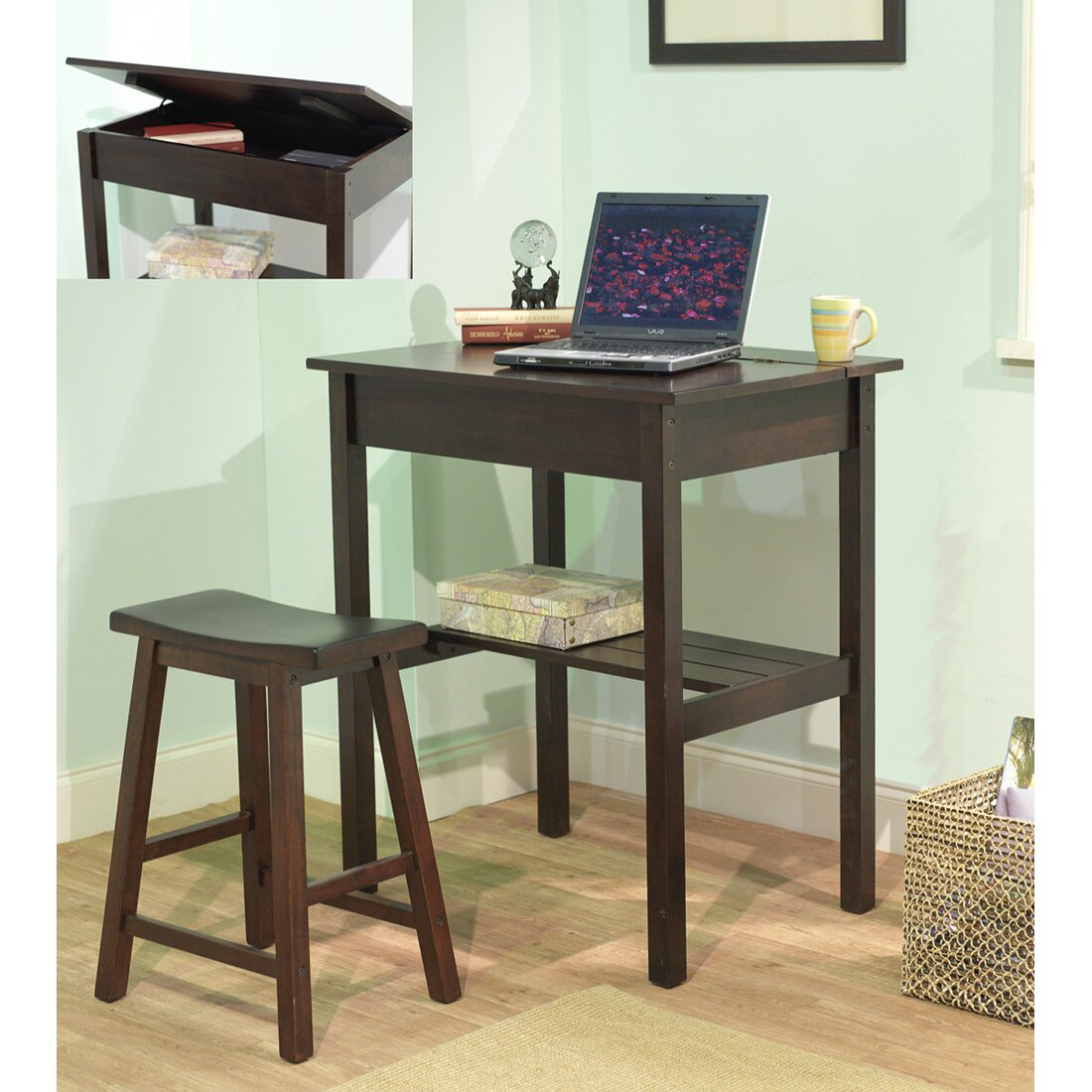 corner writing desks