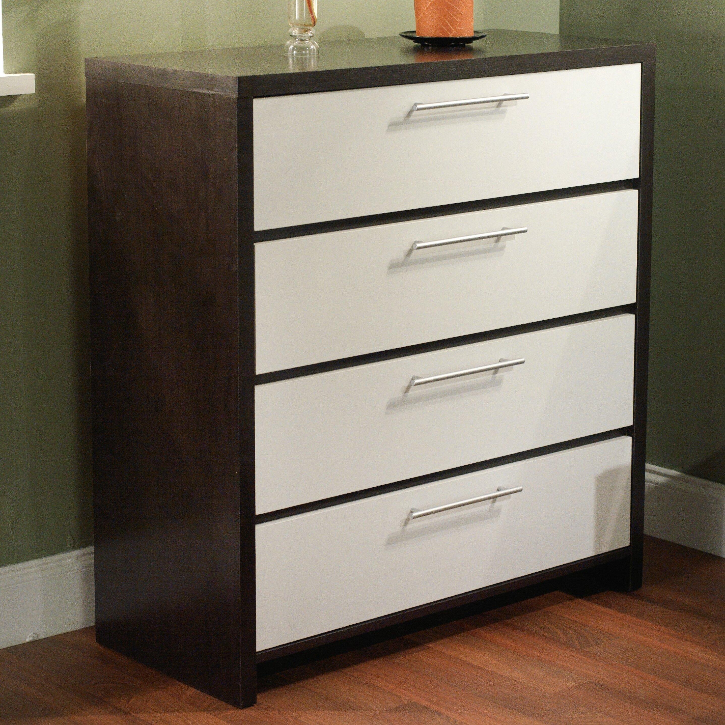 tms 4 drawer chest reviews wayfair. Black Bedroom Furniture Sets. Home Design Ideas