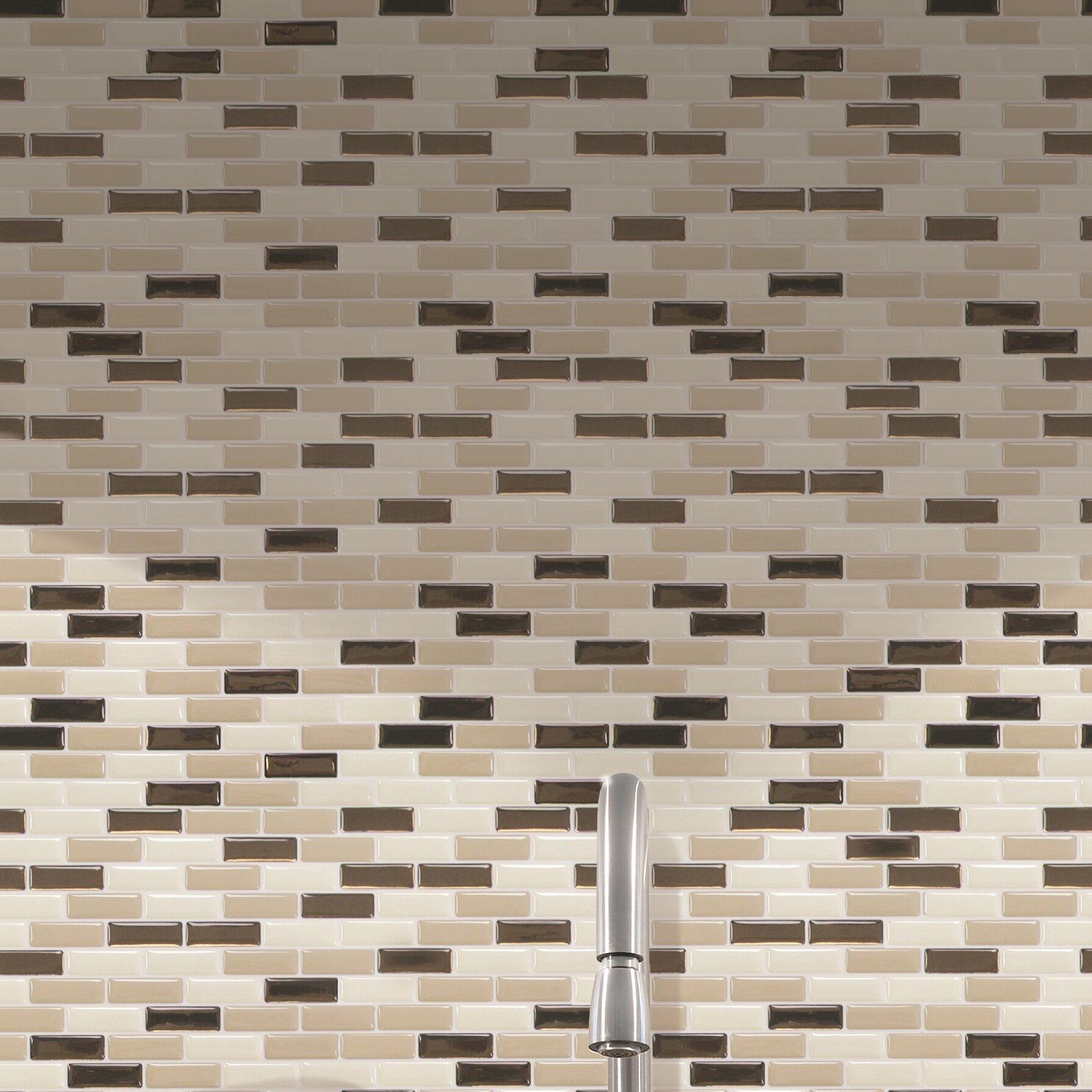 Smart tiles mosaik murano dune x peel stick for Peel and stick tile