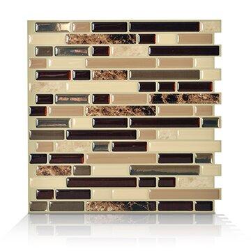 Smart Tiles Mosaik Bellagio Keystone 10 06 Quot X 10 Quot Peel