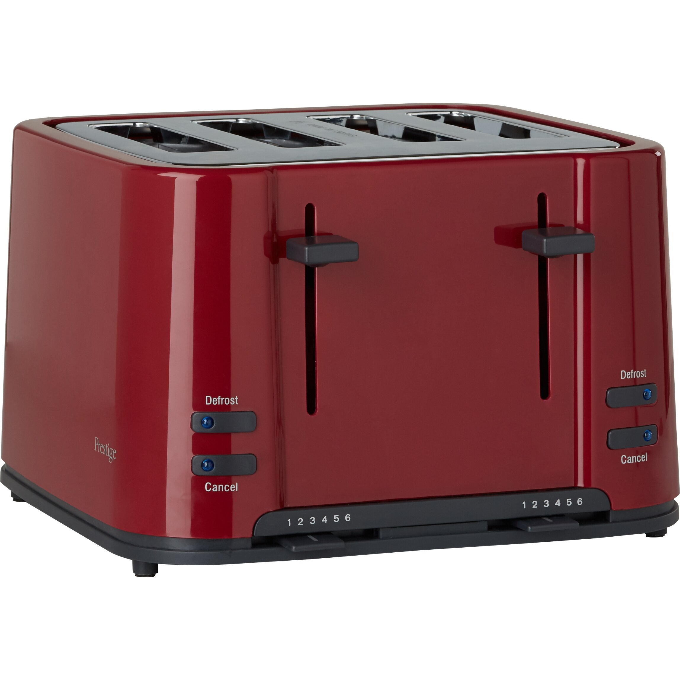 prestige eco 4 slice toaster reviews wayfair uk. Black Bedroom Furniture Sets. Home Design Ideas