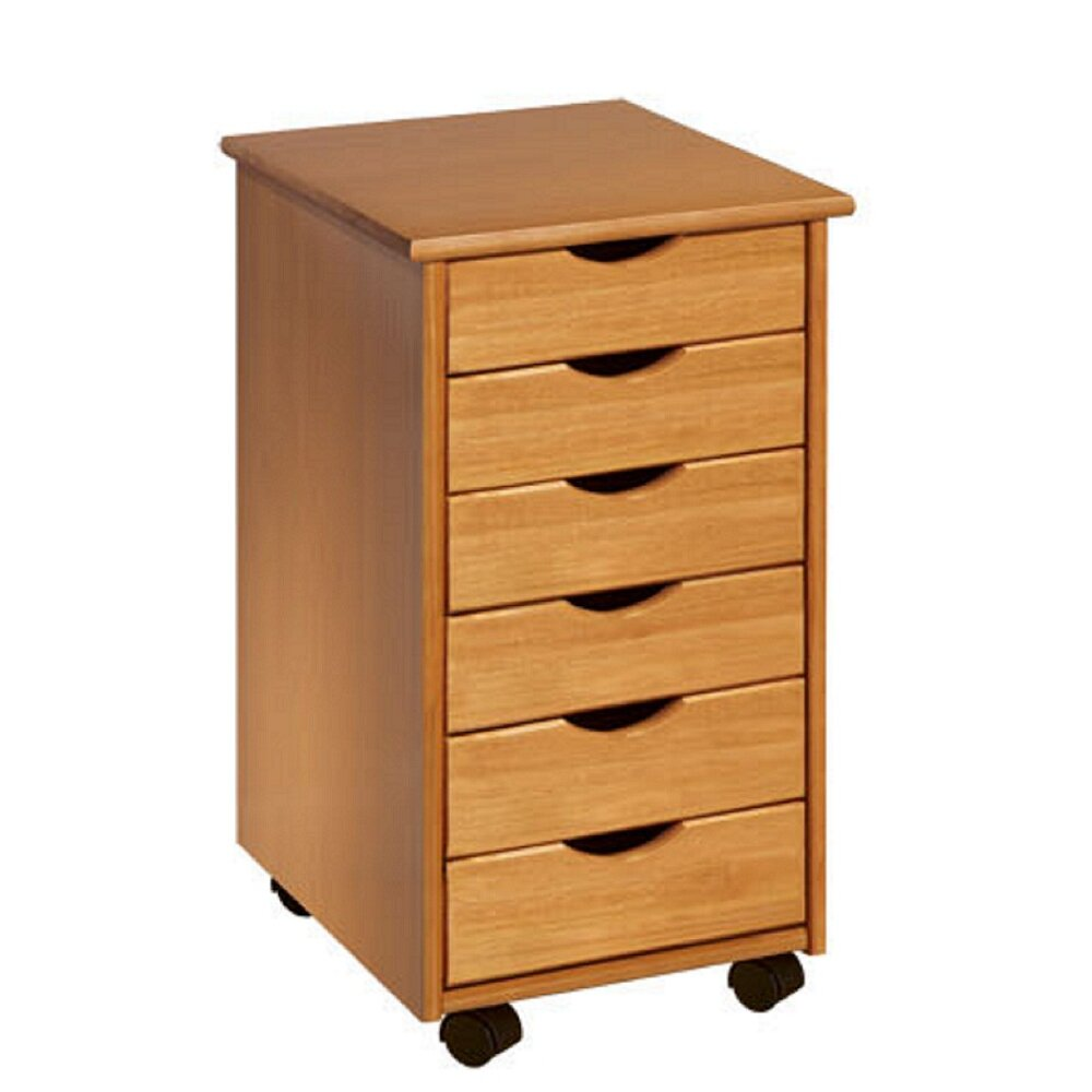 Adeptus 6 drawer storage chest reviews wayfair for 1 door 6 drawer chest