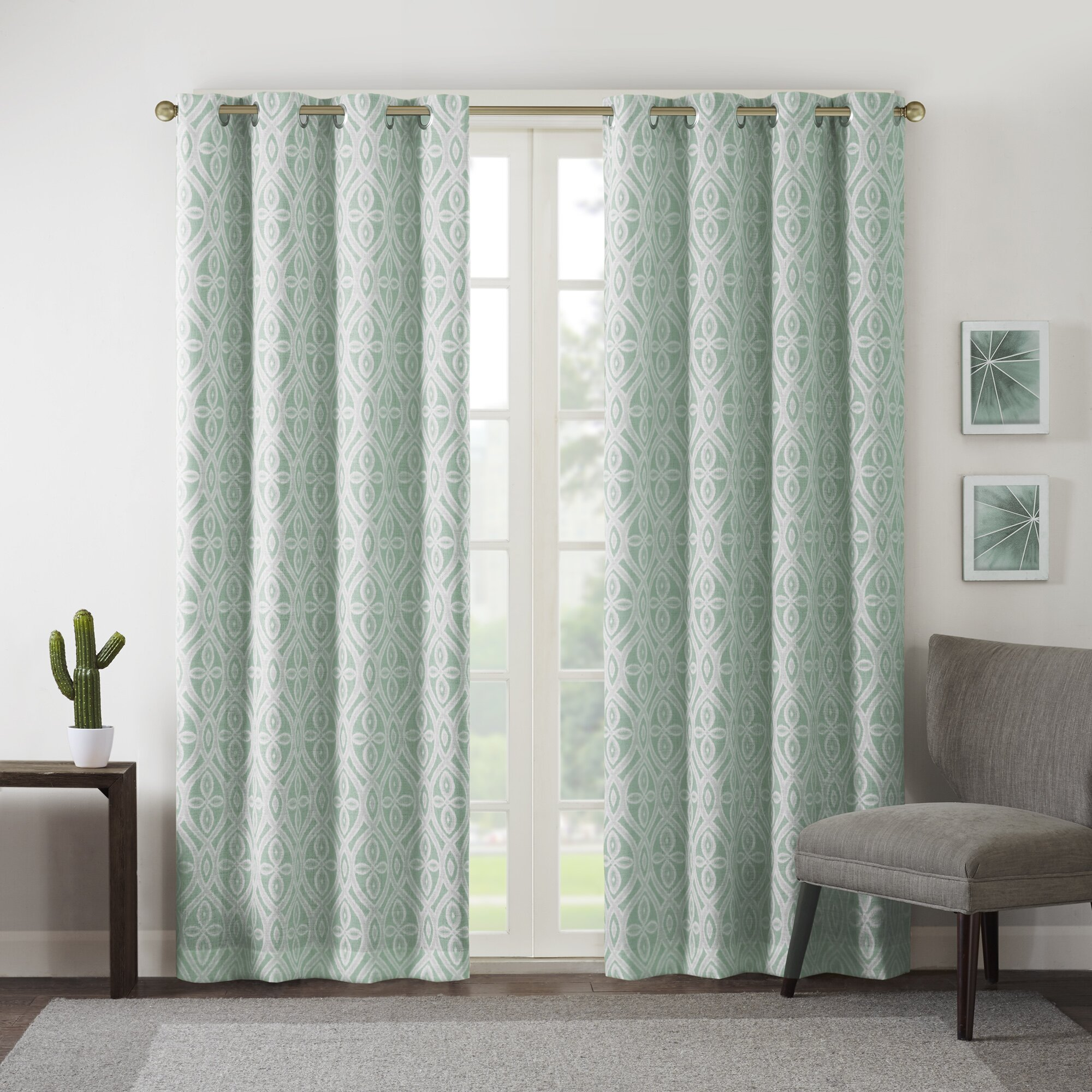 Intelligent Design Rex Blackout Single Curtain Panel