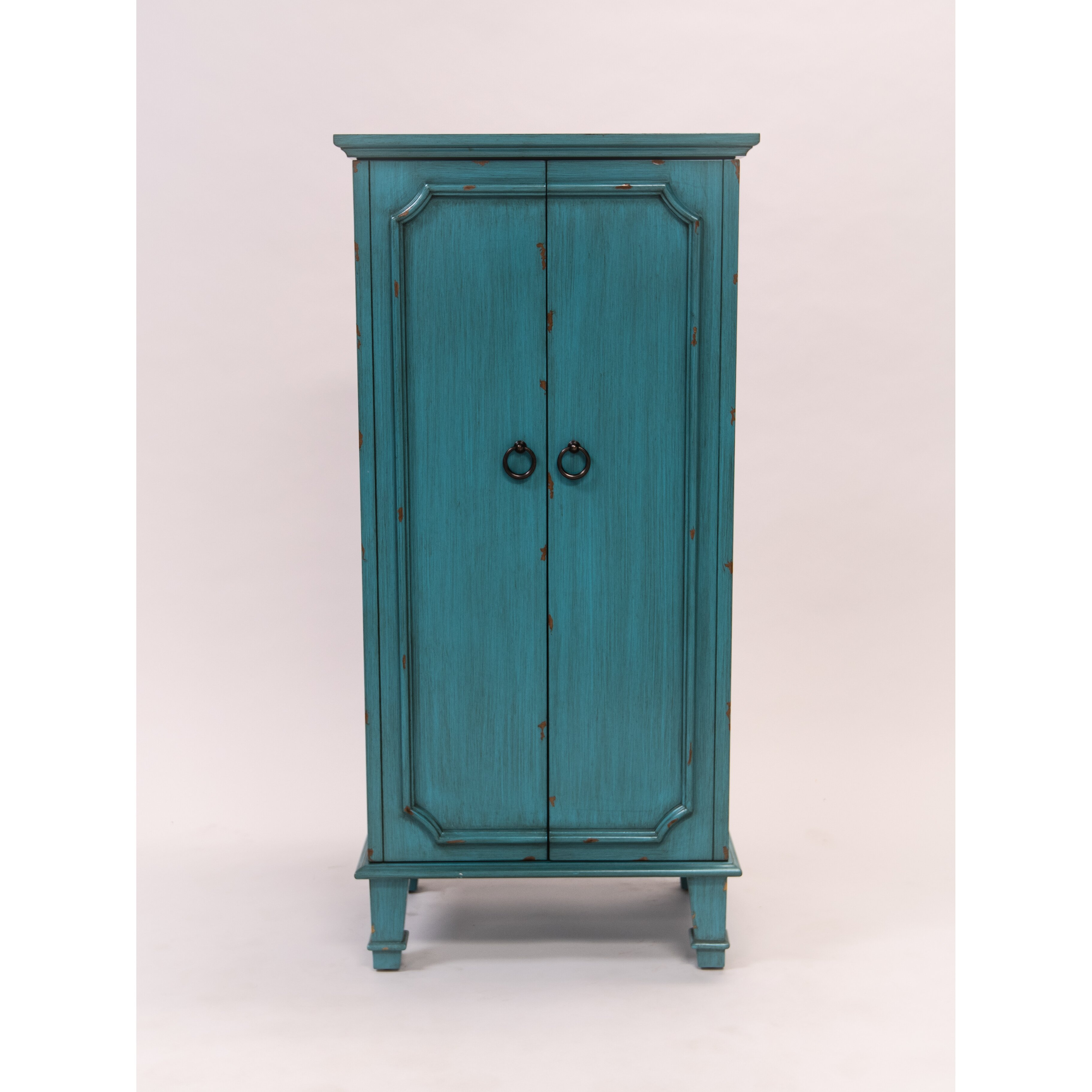 Hives & Honey Cabby Jewelry Armoire with Mirror & Reviews ...