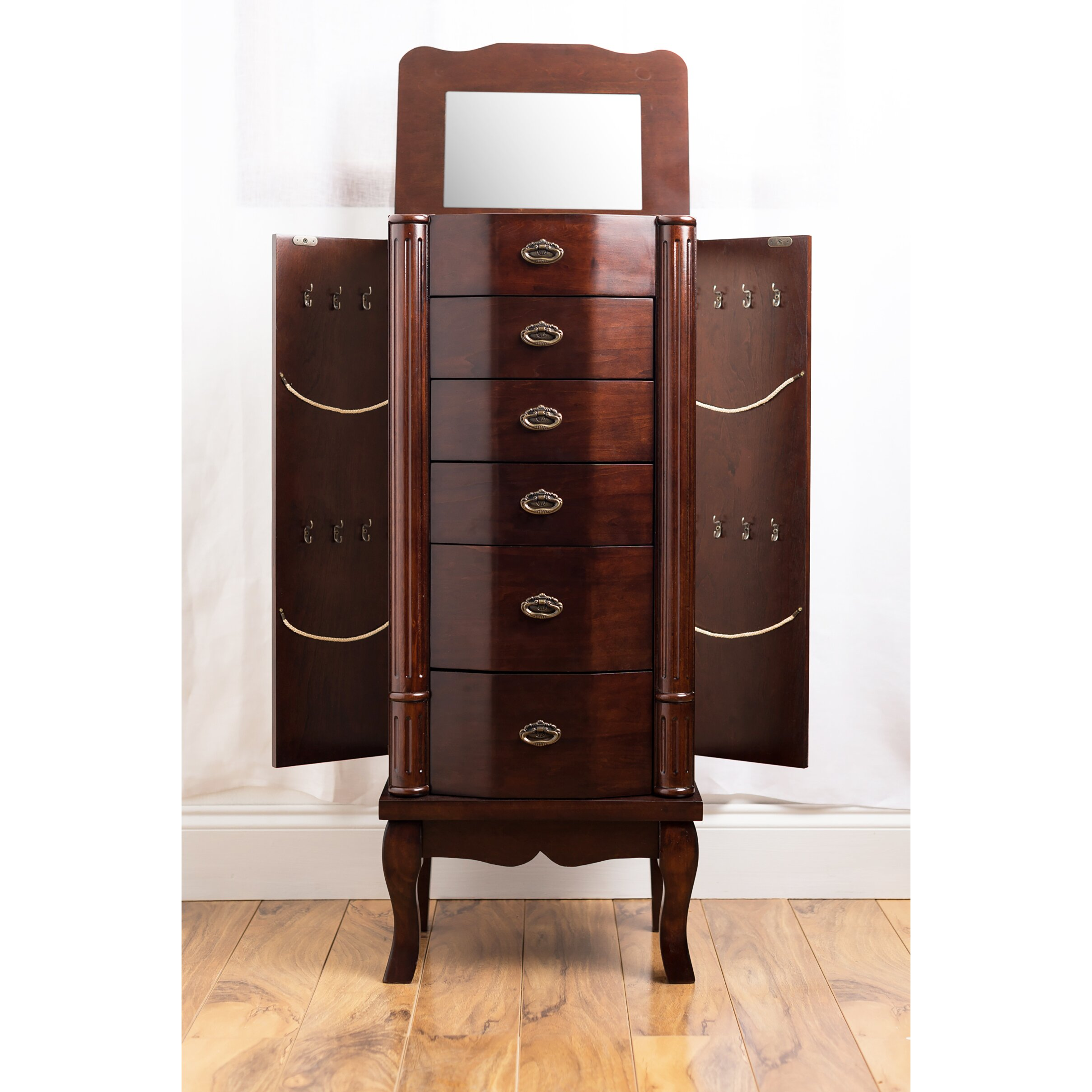 hives honey abigail jewelry armoire reviews wayfair
