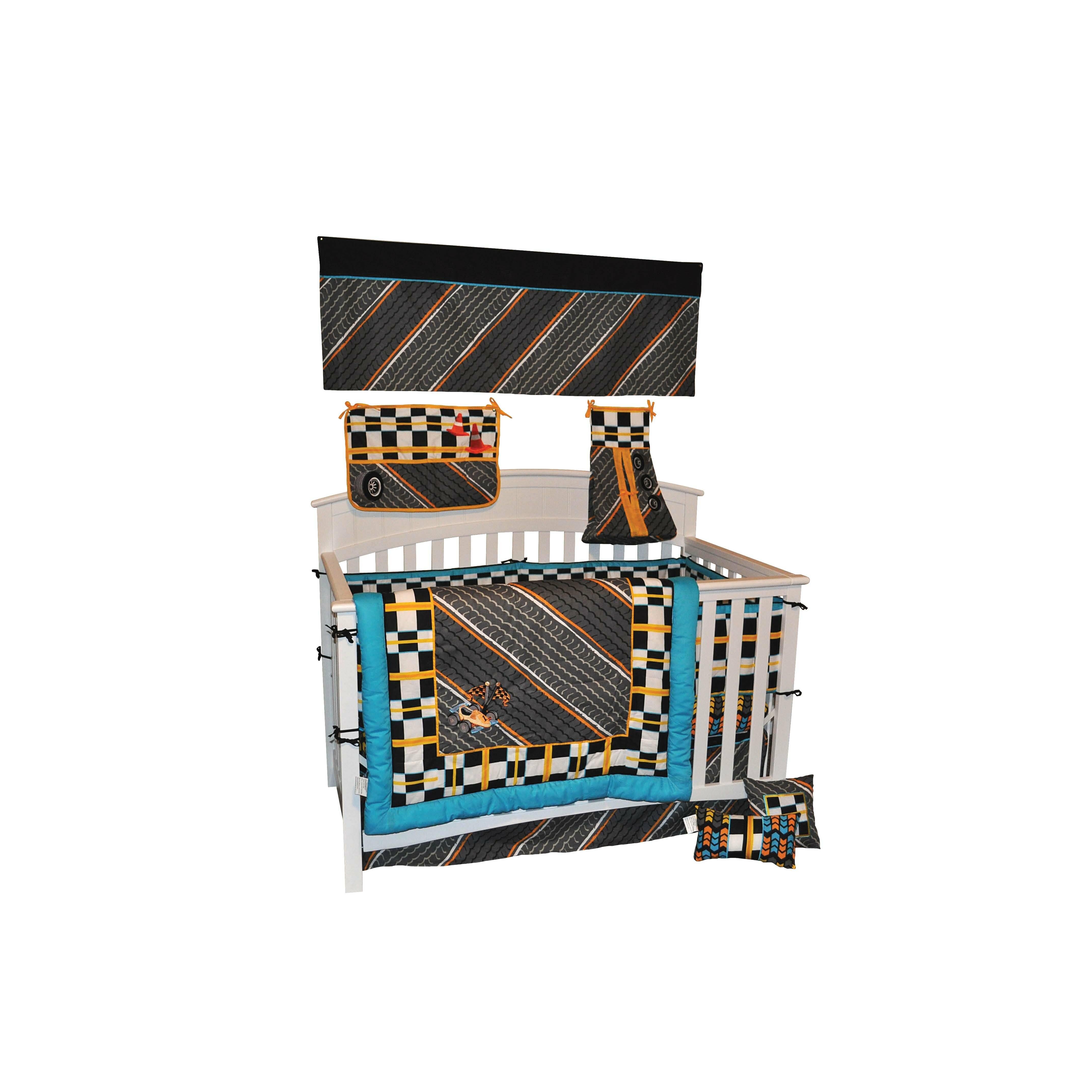 Dk Leigh Tiny Turbo 10 Piece Crib Bedding Set Amp Reviews