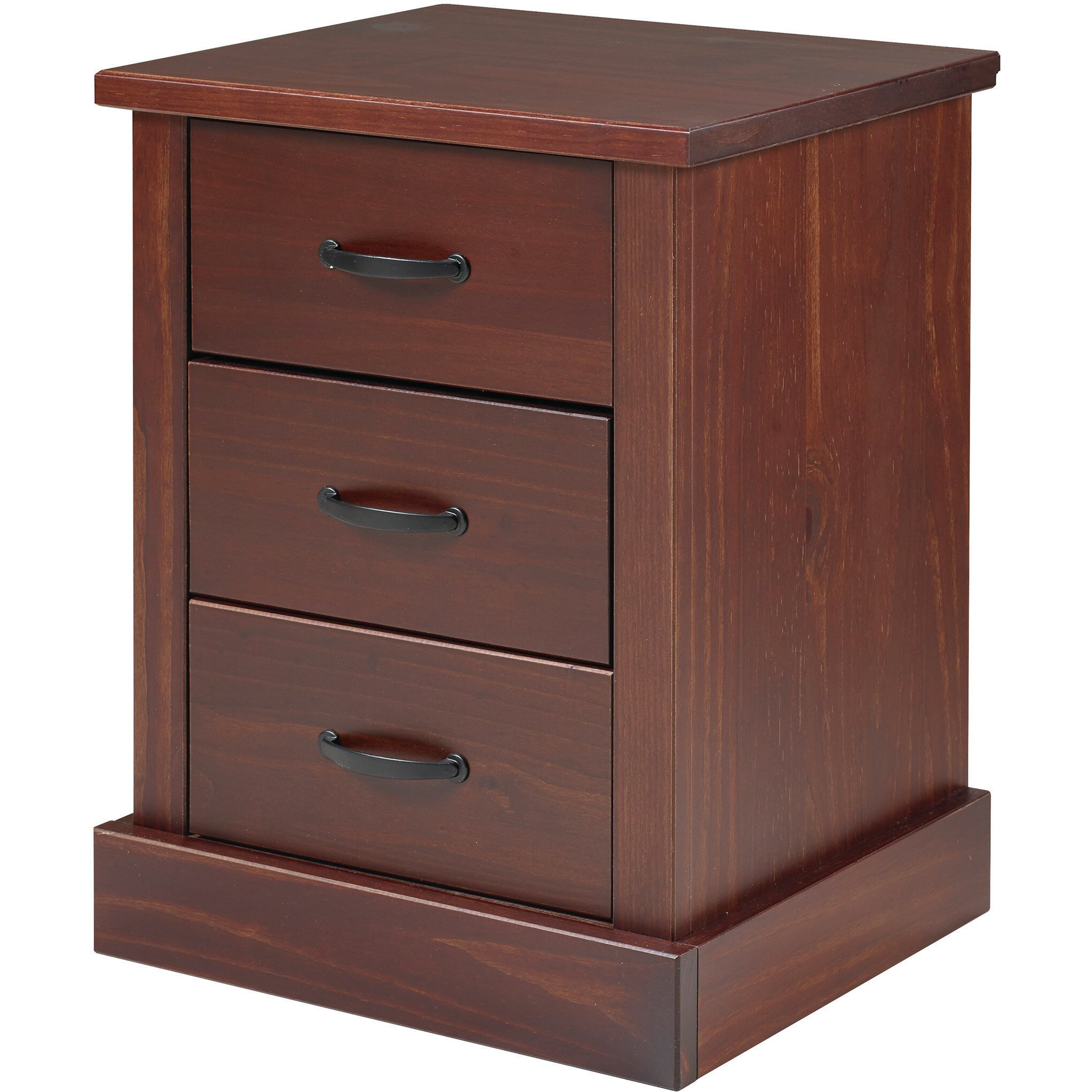 Just Cabinets Wyatt 3 Drawer Nightstand Reviews