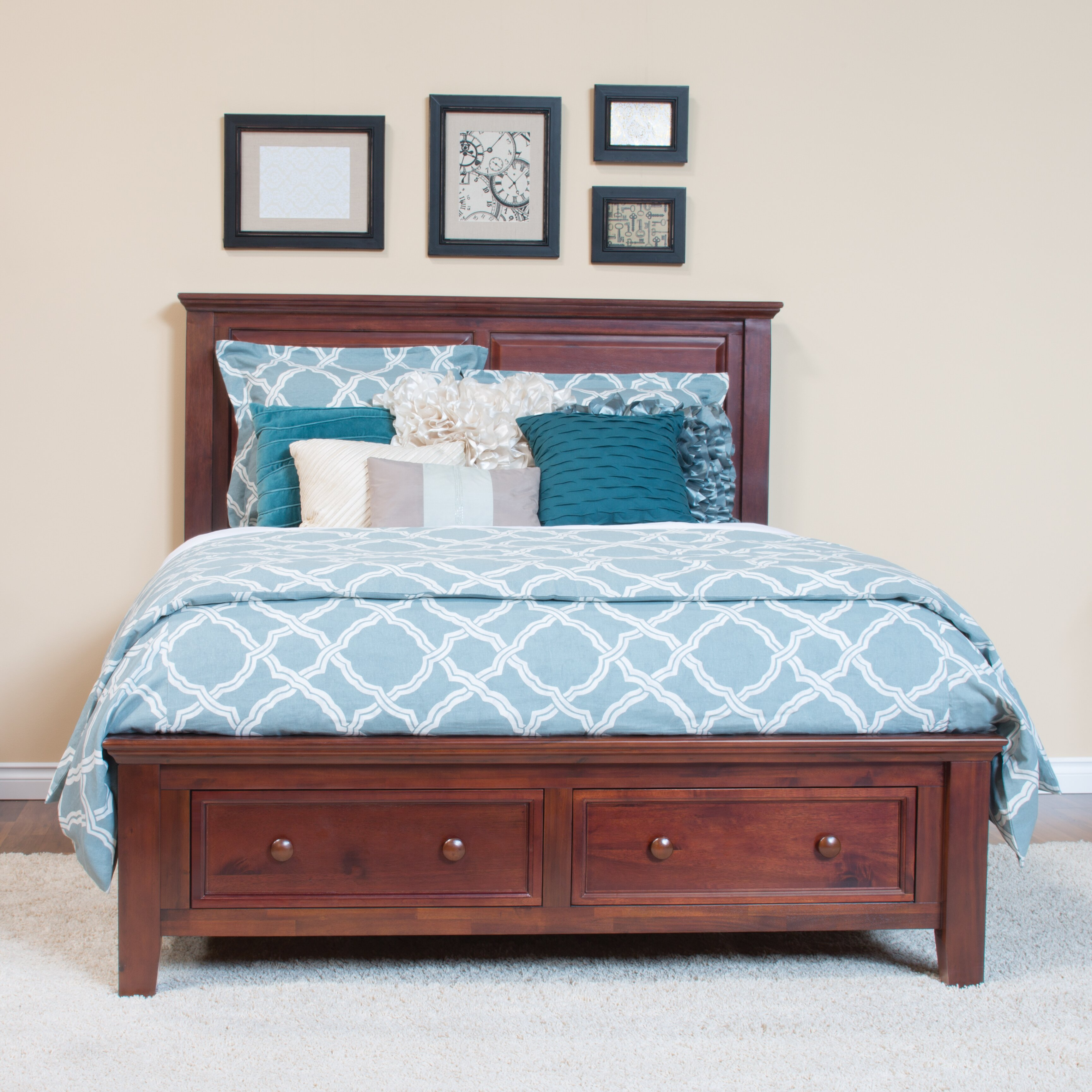 Epoch Design Verona Panel Customizable Bedroom Set