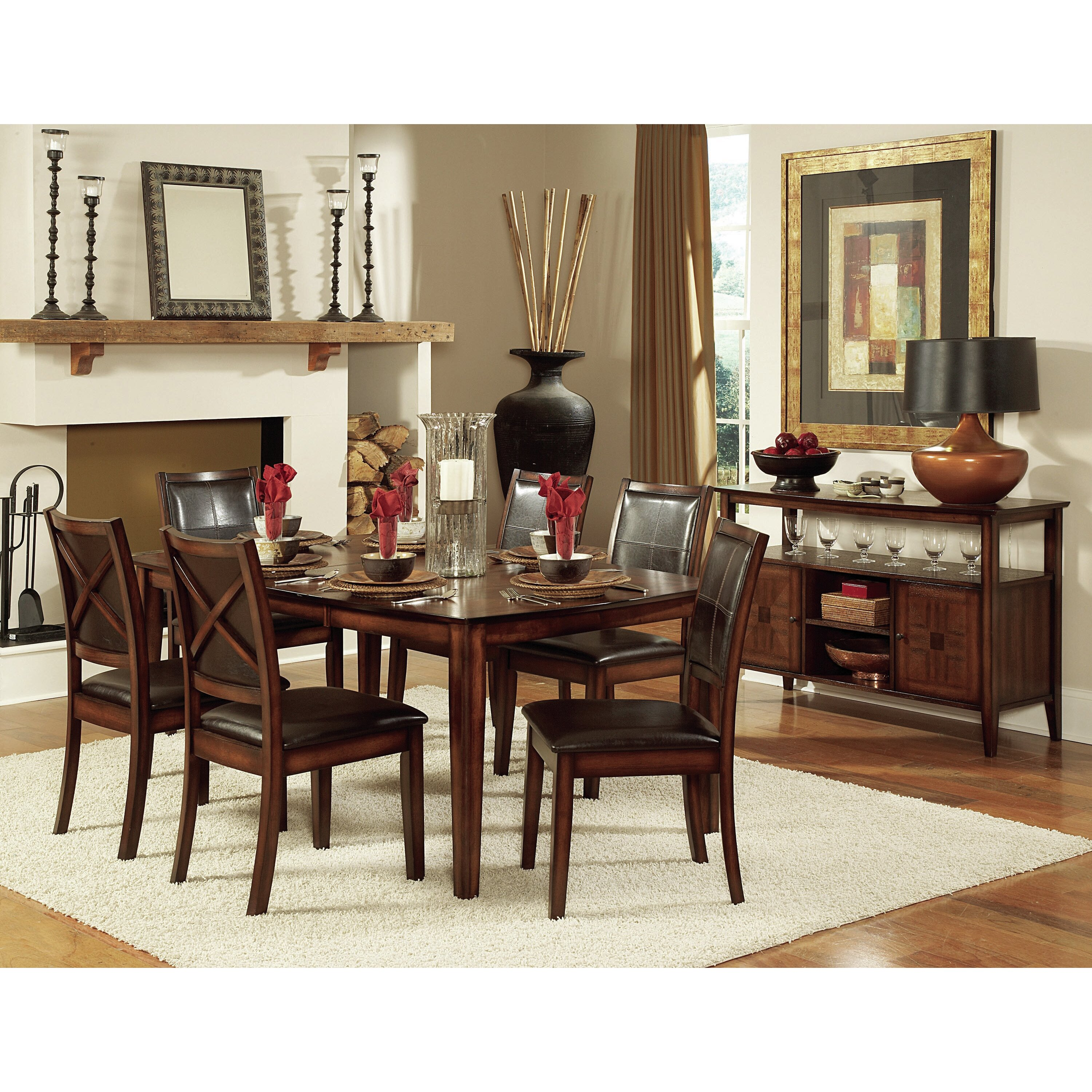 Woodhaven Hill Verona 7 Piece Dining Set & Reviews