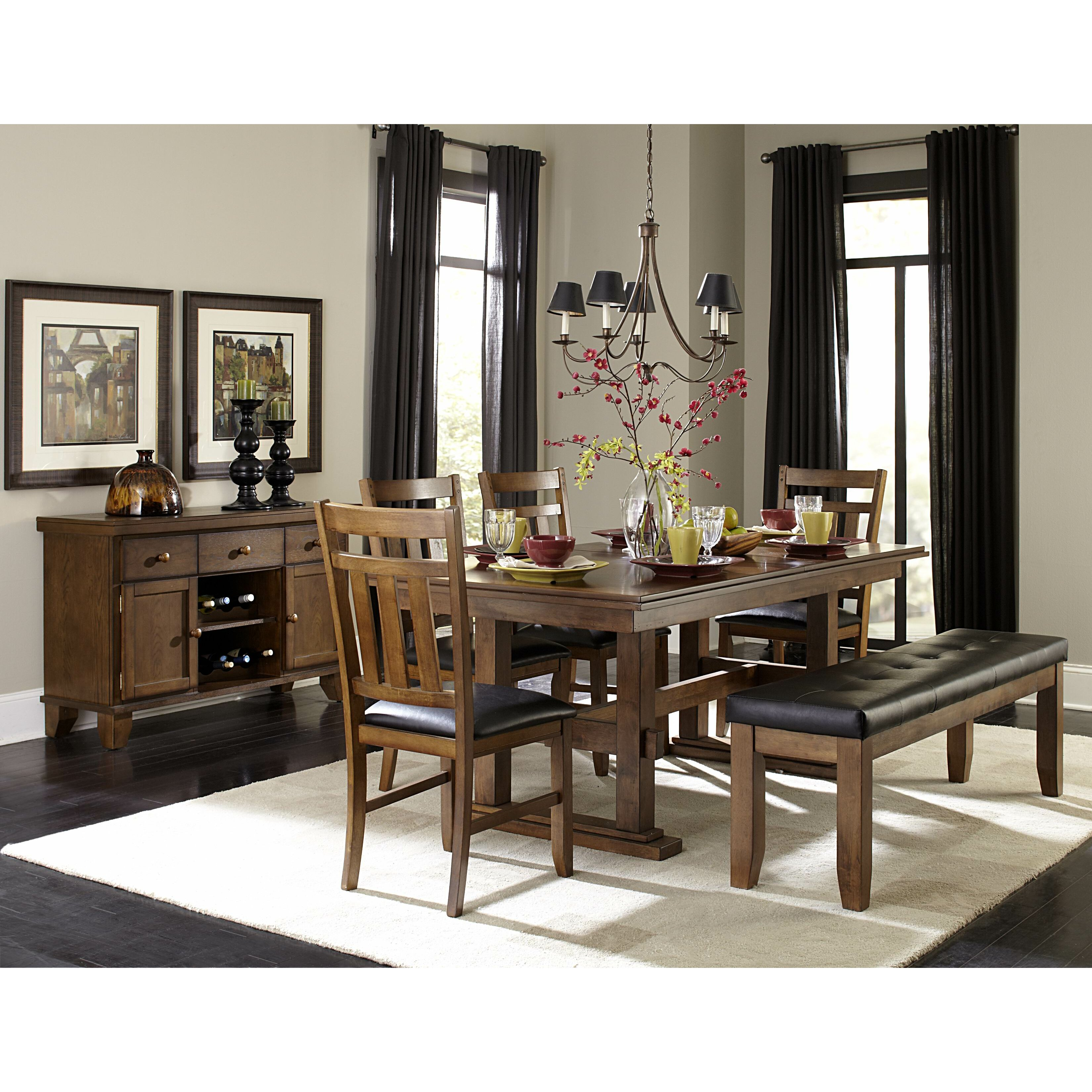 Woodhaven Hill Kirtland Extendable Dining Table amp Reviews  : Woodhaven Hill Kirtland Extendable Dining Table HE7194 from www.wayfair.com size 3300 x 3300 jpeg 1654kB