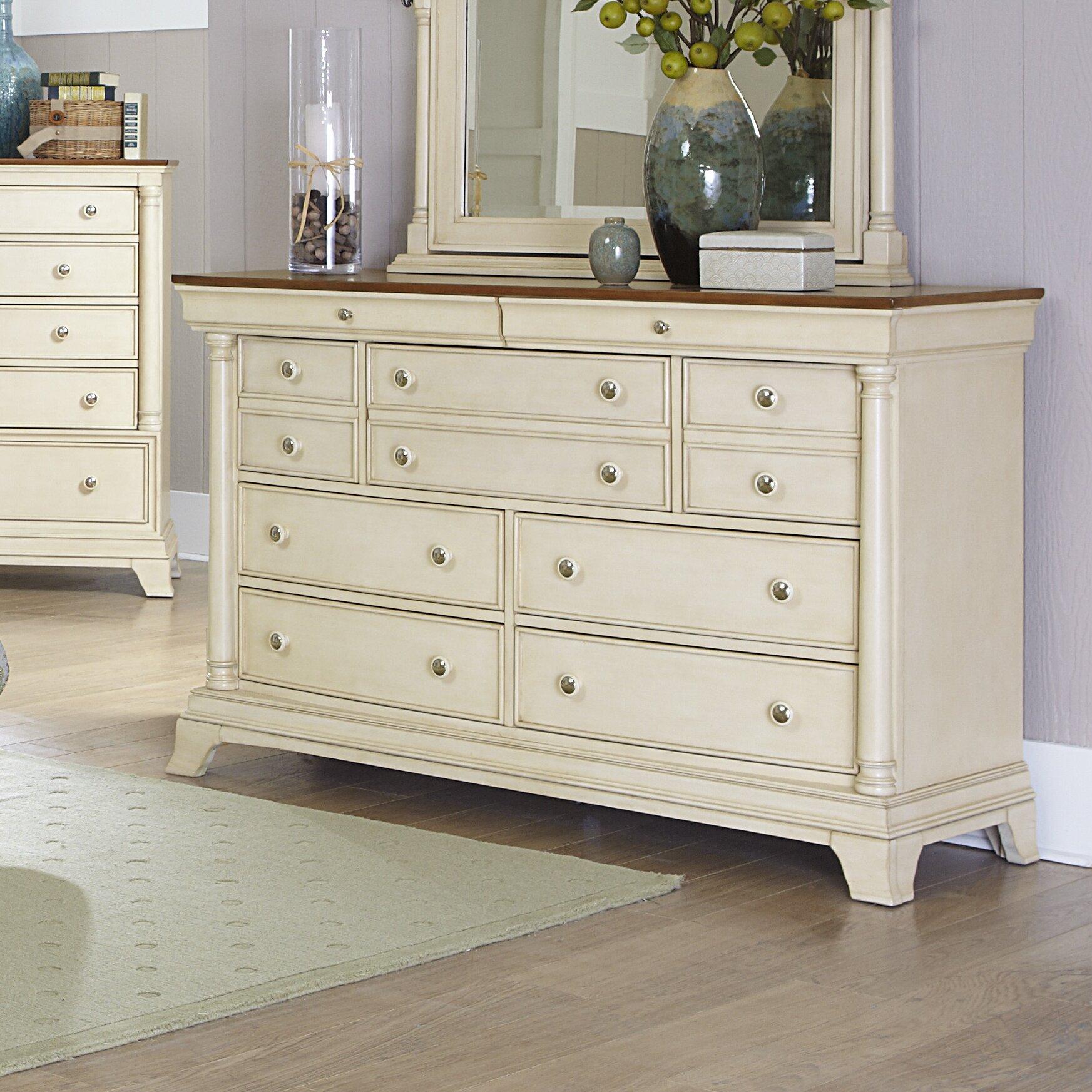 Woodhaven Hill Inglewood II 7 Drawer Dresser & Reviews