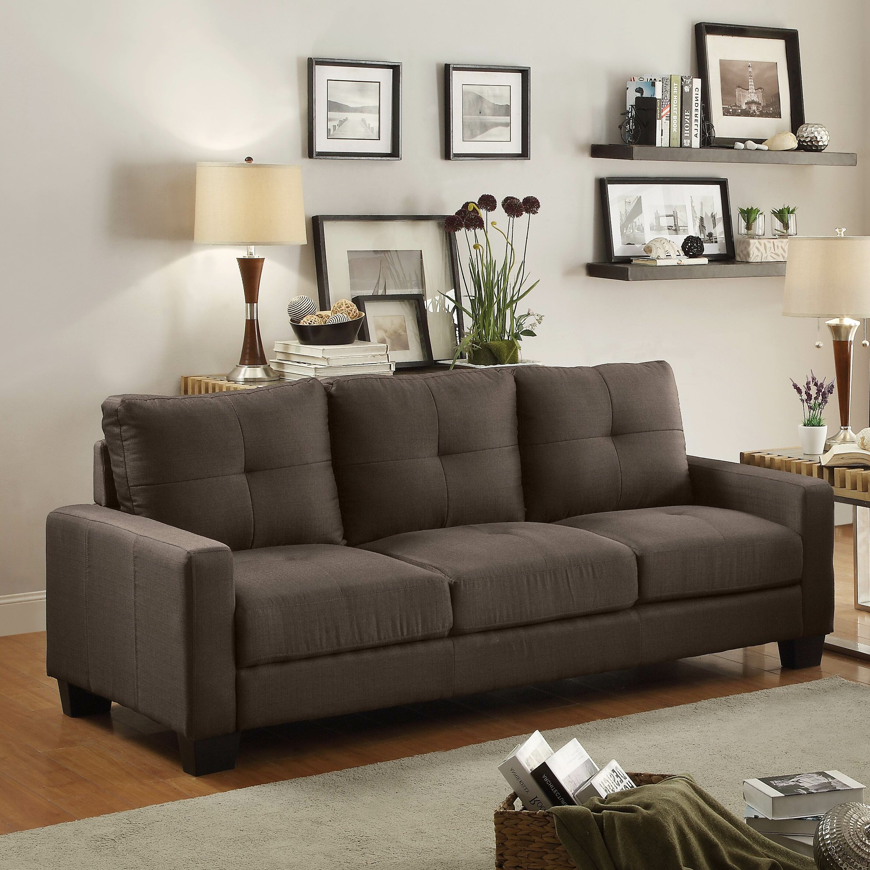 woodhaven hill ramsey sofa reviews wayfair. Black Bedroom Furniture Sets. Home Design Ideas