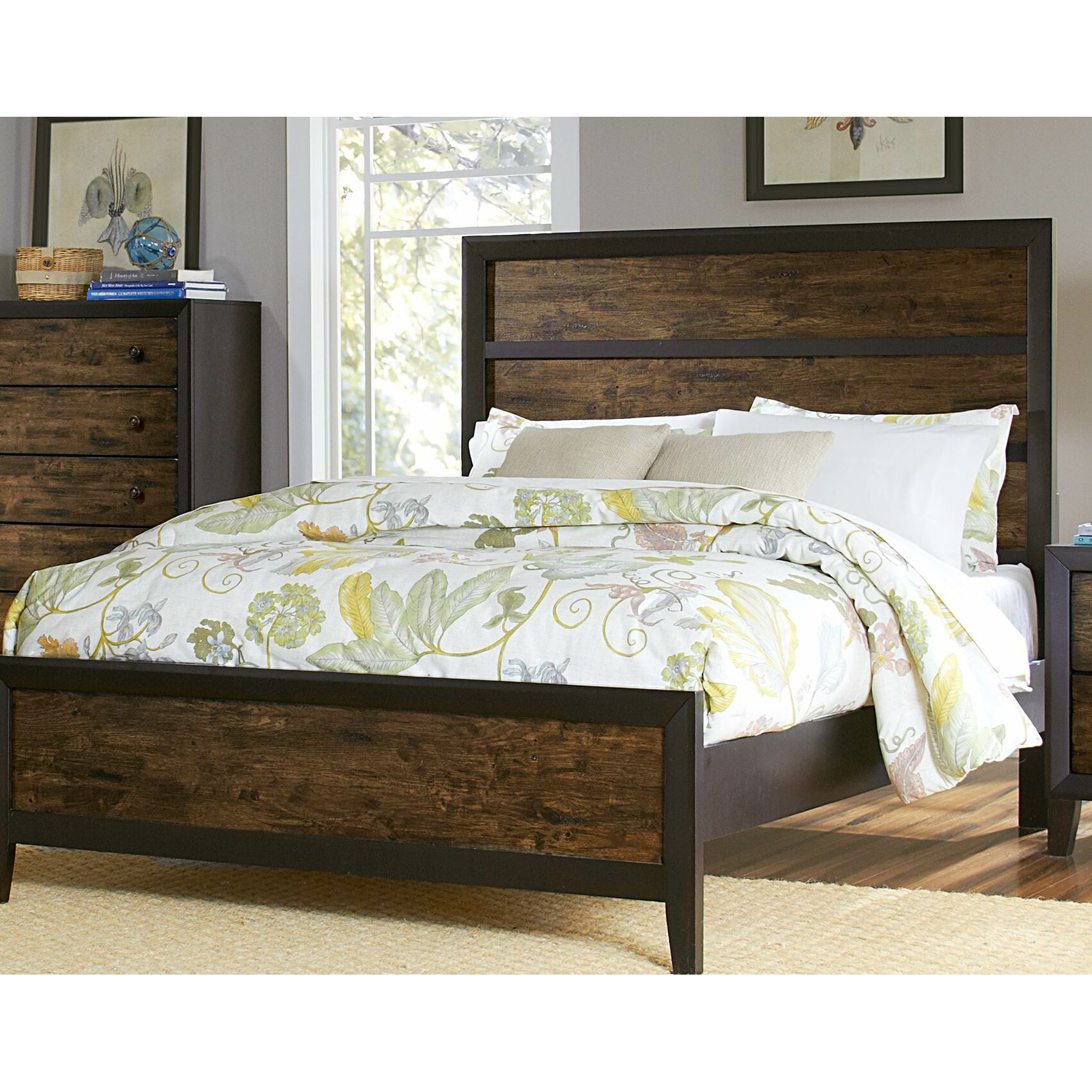 Woodhaven Hill Arcola Storage Panel Bed Amp Reviews Wayfair