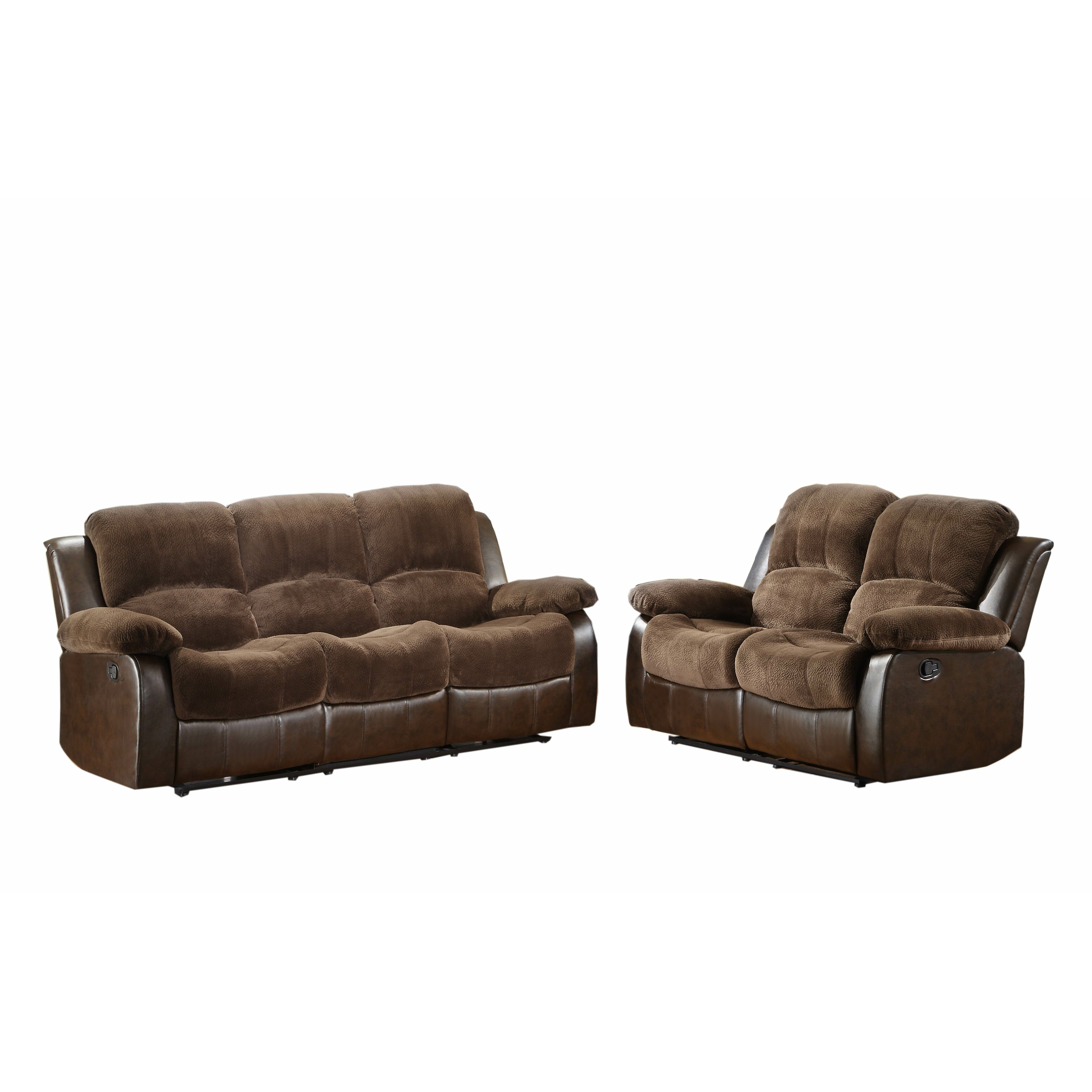Woodhaven Hill Cranley Double Reclining Loveseat Reviews Wayfair
